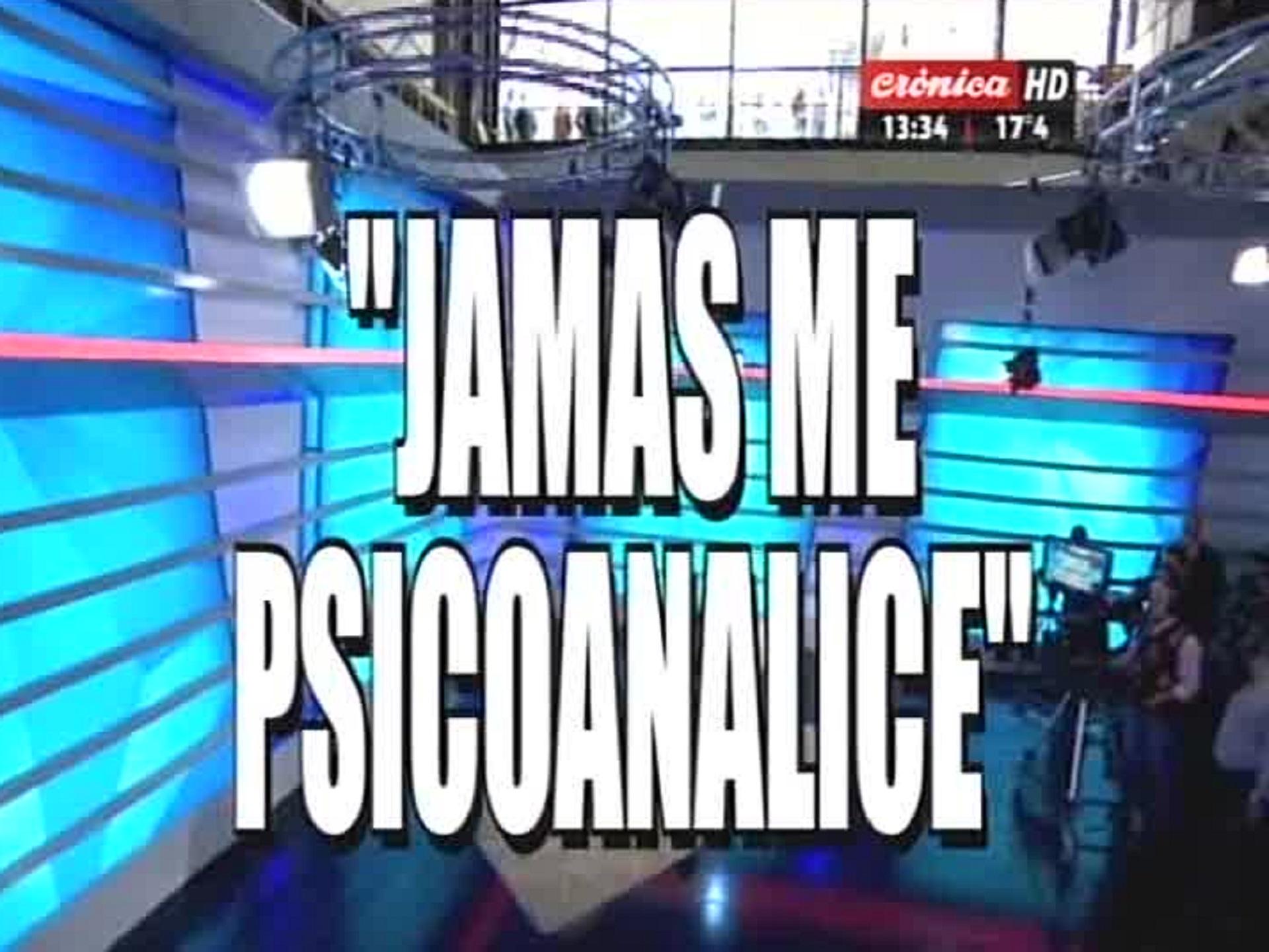Placa de Crónica TV sobre la visita de Cristina Kirchner