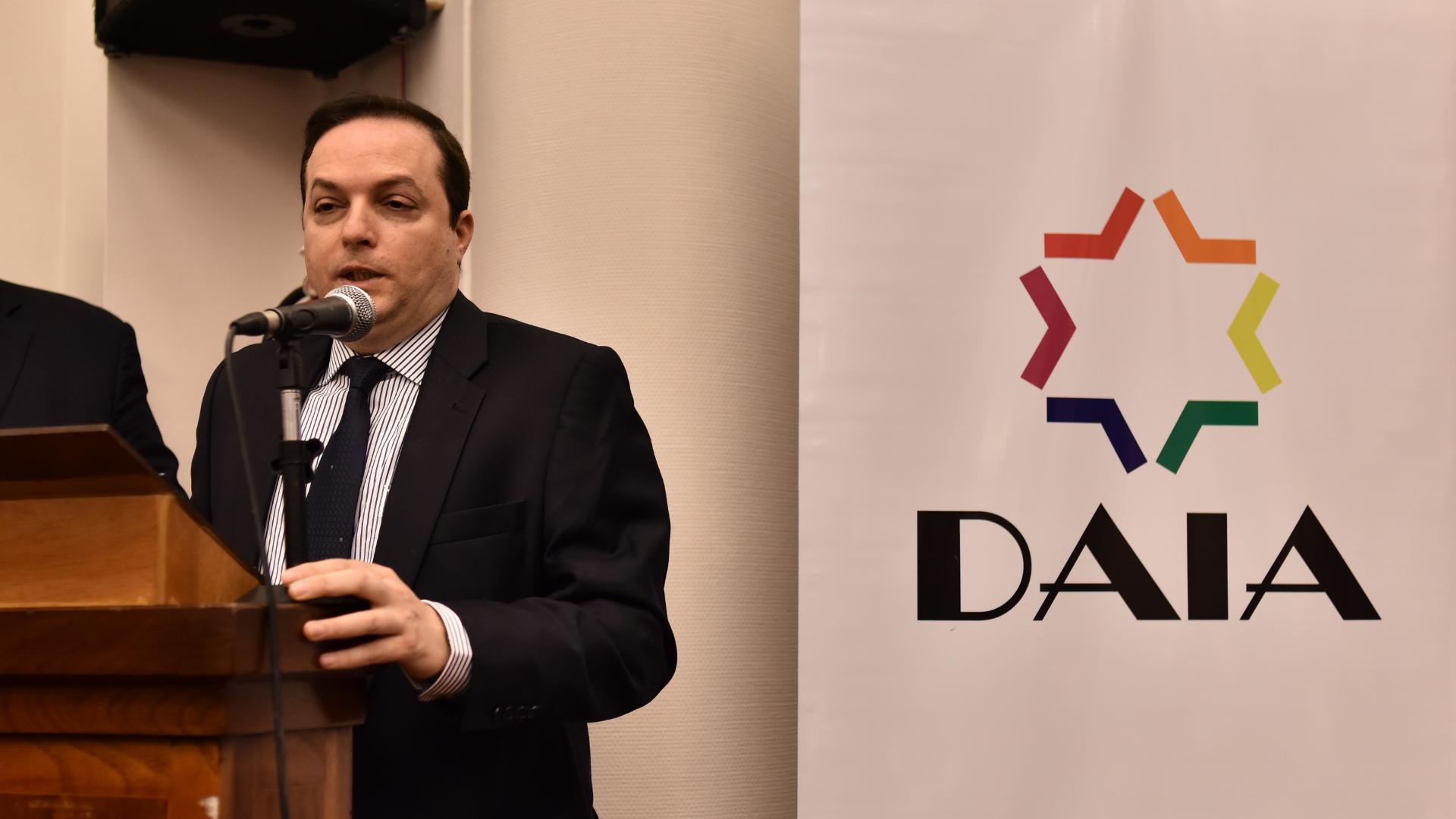 Ariel Cohen Sabban, titular de la DAIA (Adrián Escandar)