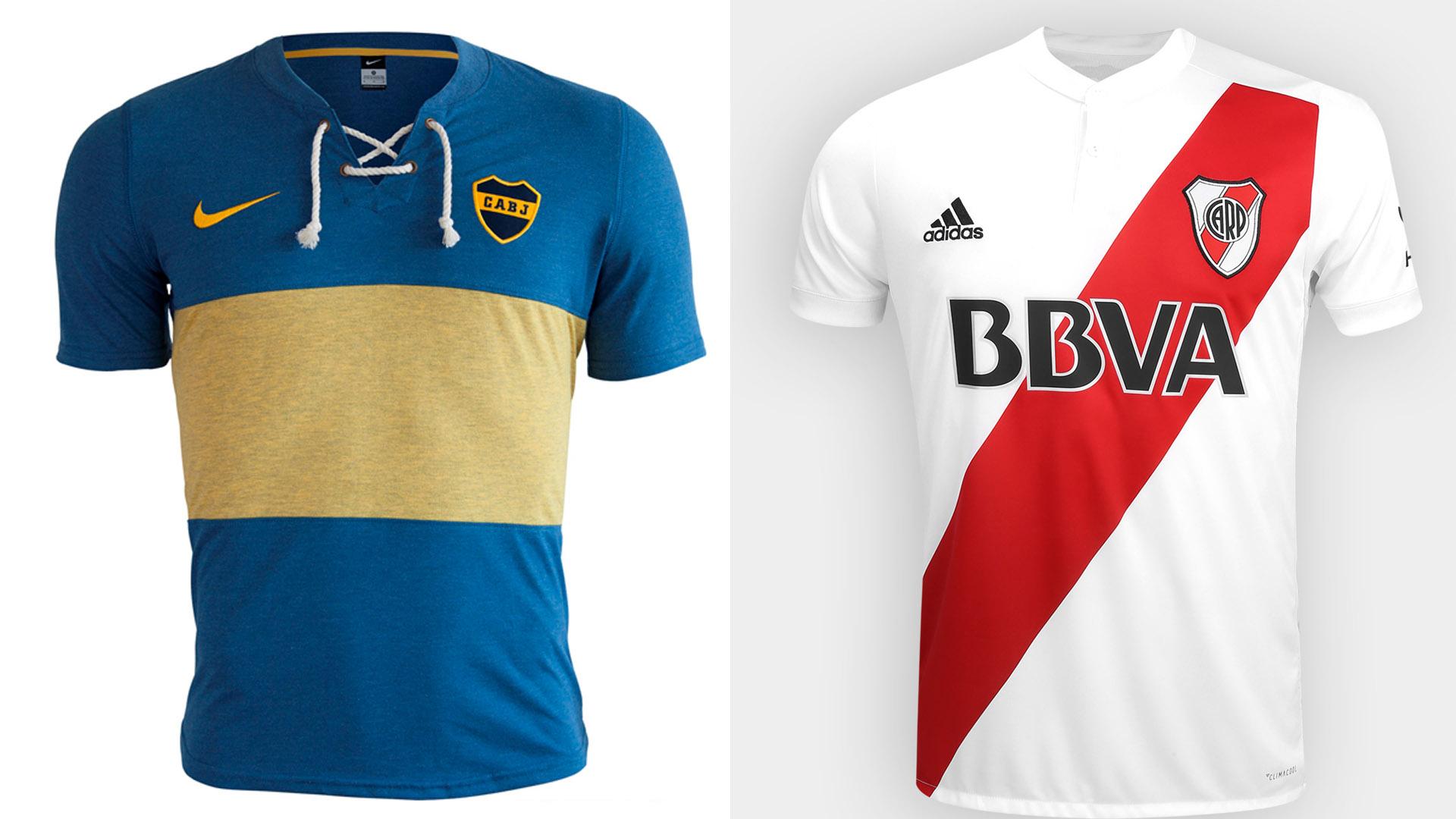 Boutique en ligne 42932 fe8d0 Camisetas retro: cómo el fútbol revive la moda del pasado ...