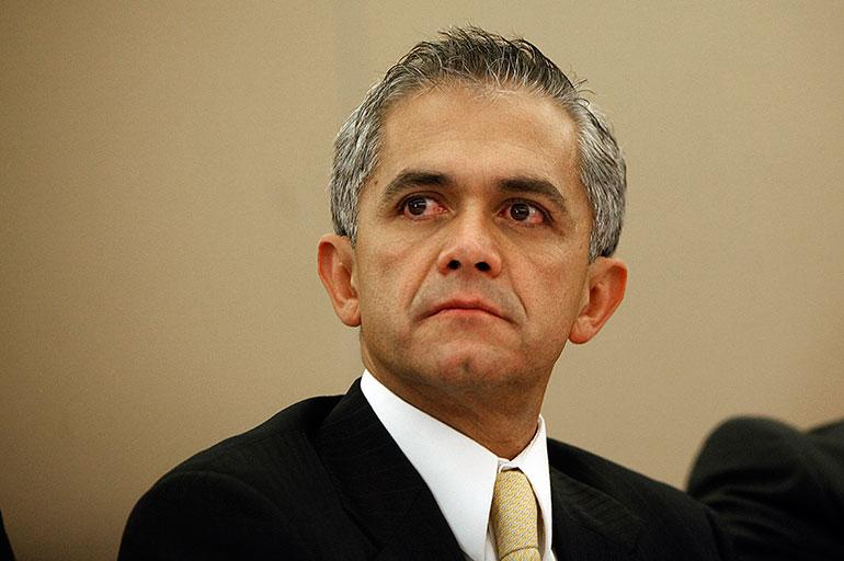Miguel Angel Mancera, ex jefe de Gobierno de la Ciudad de México, negó que en la capital hubiera presencia de cárteles de droga (Foto: Archivo)