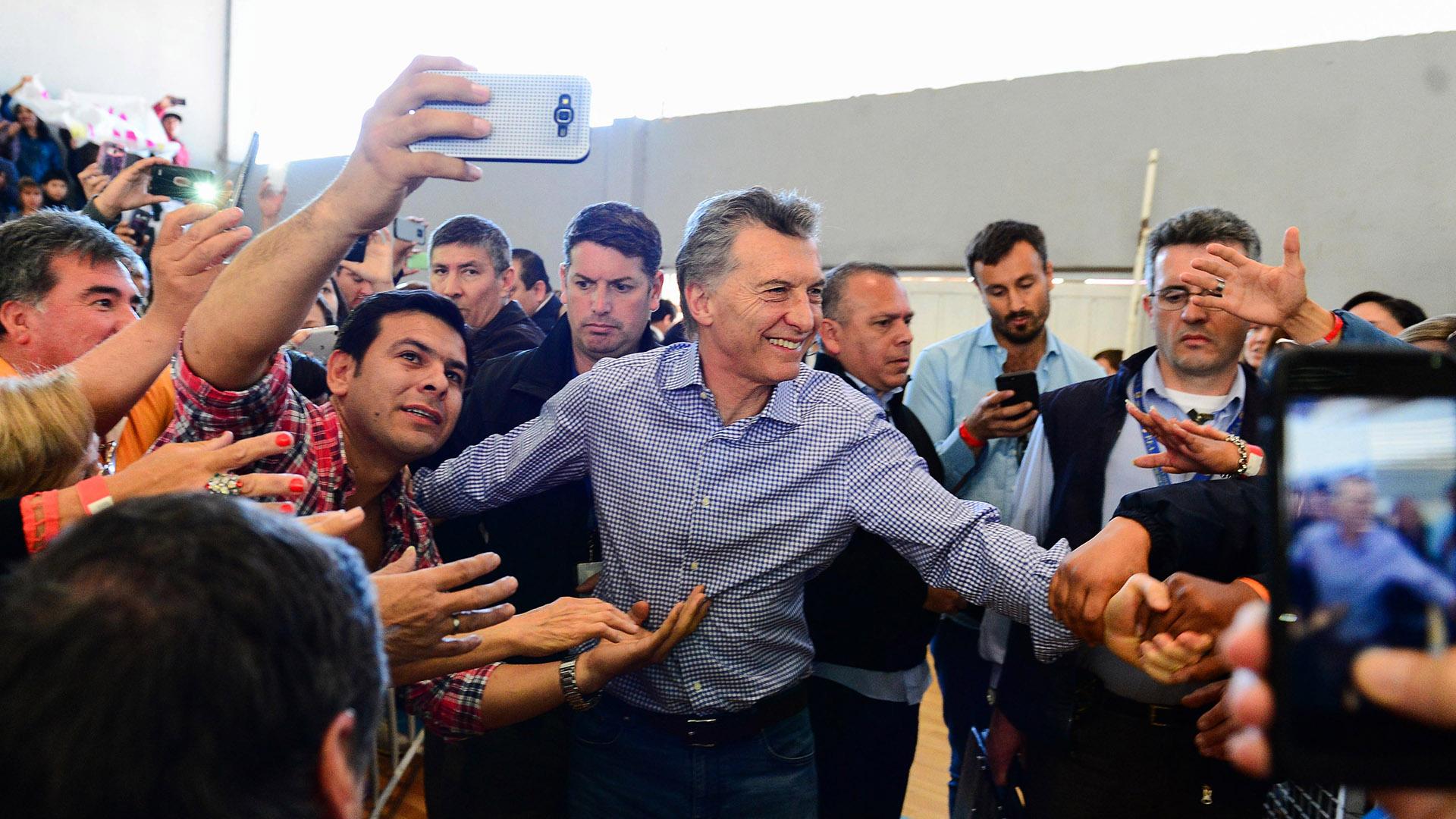 Mauricio Macri (foto de archivo – Télam)