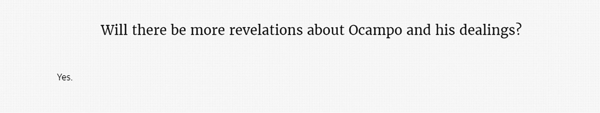 """""""-¿Habrá más revelaciones sobre Moreno Ocampo y sus negocios? -Sí"""", se pregunta el diario The Black Sea, uno de los miembros de la red que realizó la investigación"""