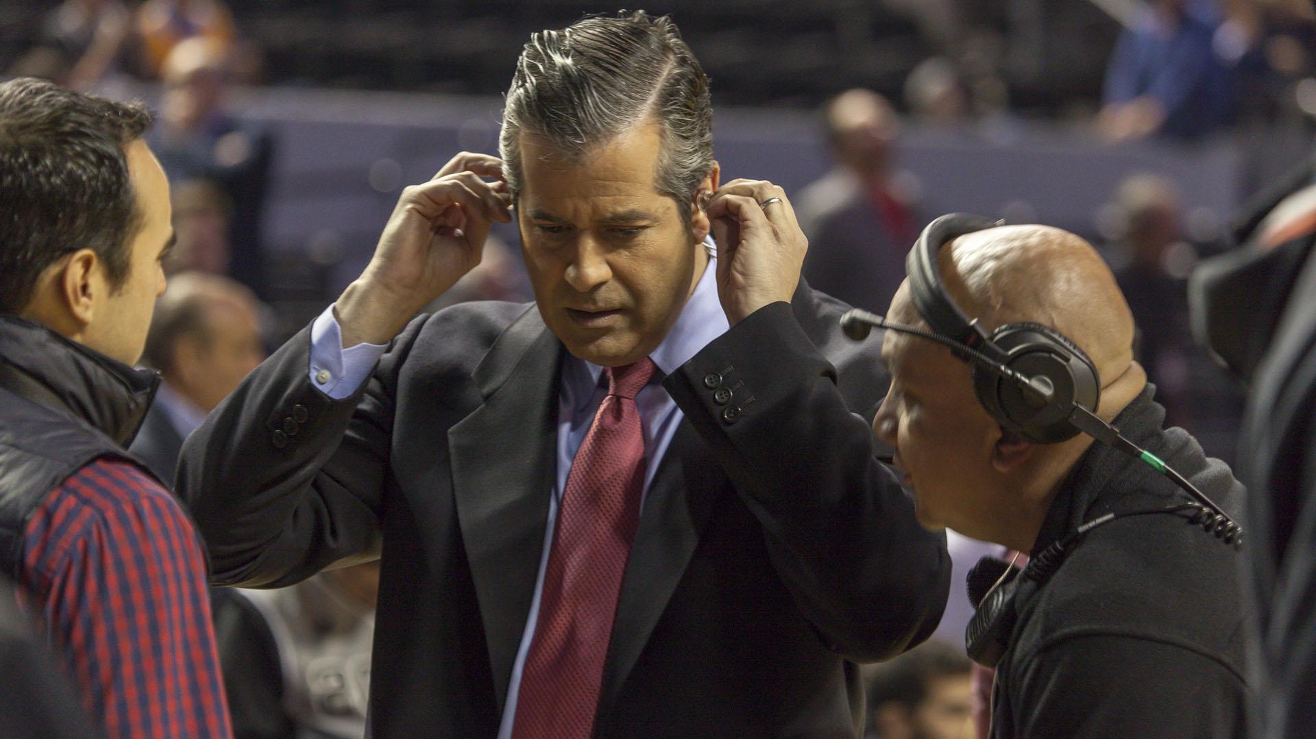 El relator puertorriqueño Álvaro Martín trabaja para la cadena ESPN desde 1991
