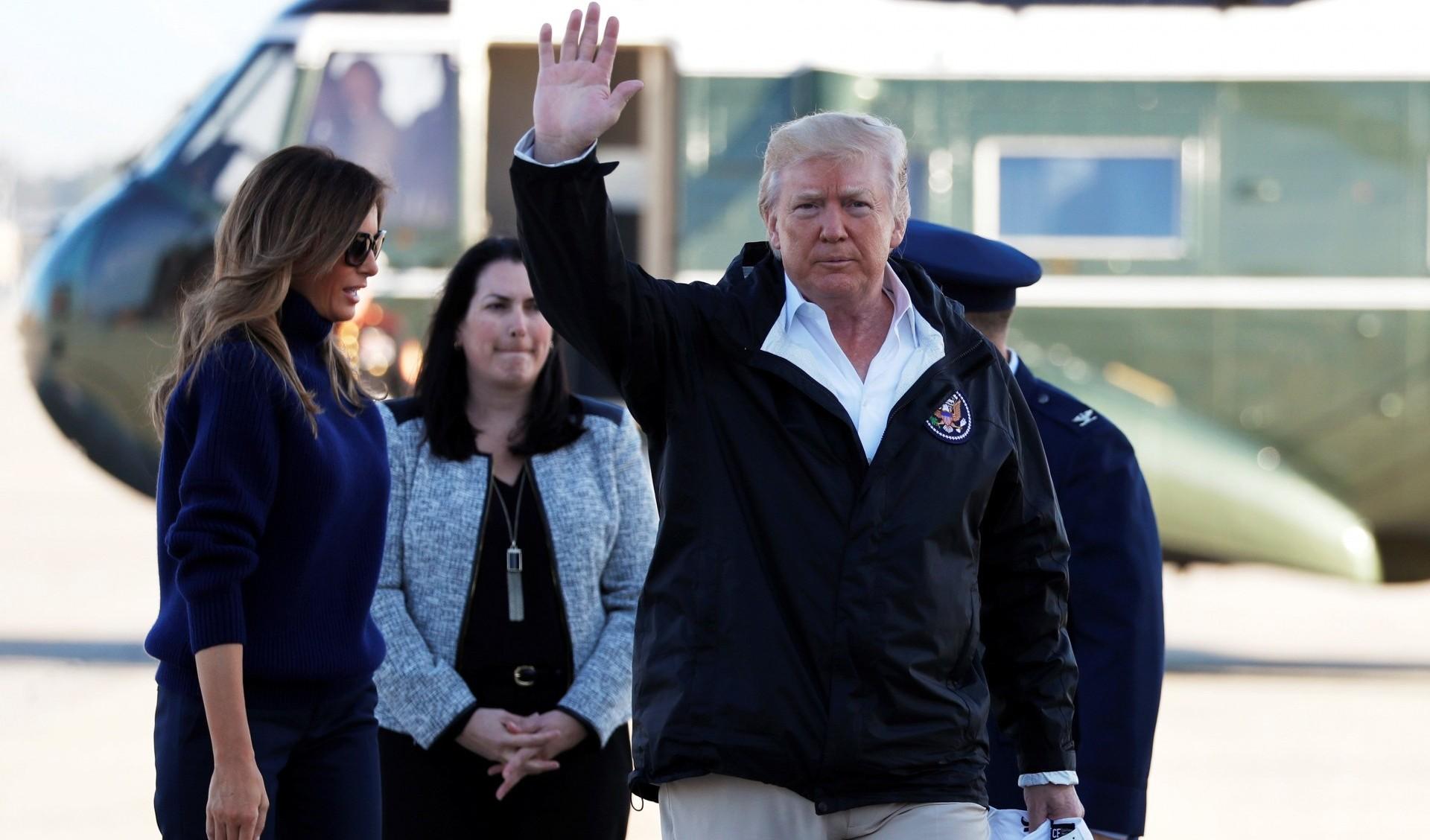 Donald Trump parte hacia Puerto Rico (Reuters)
