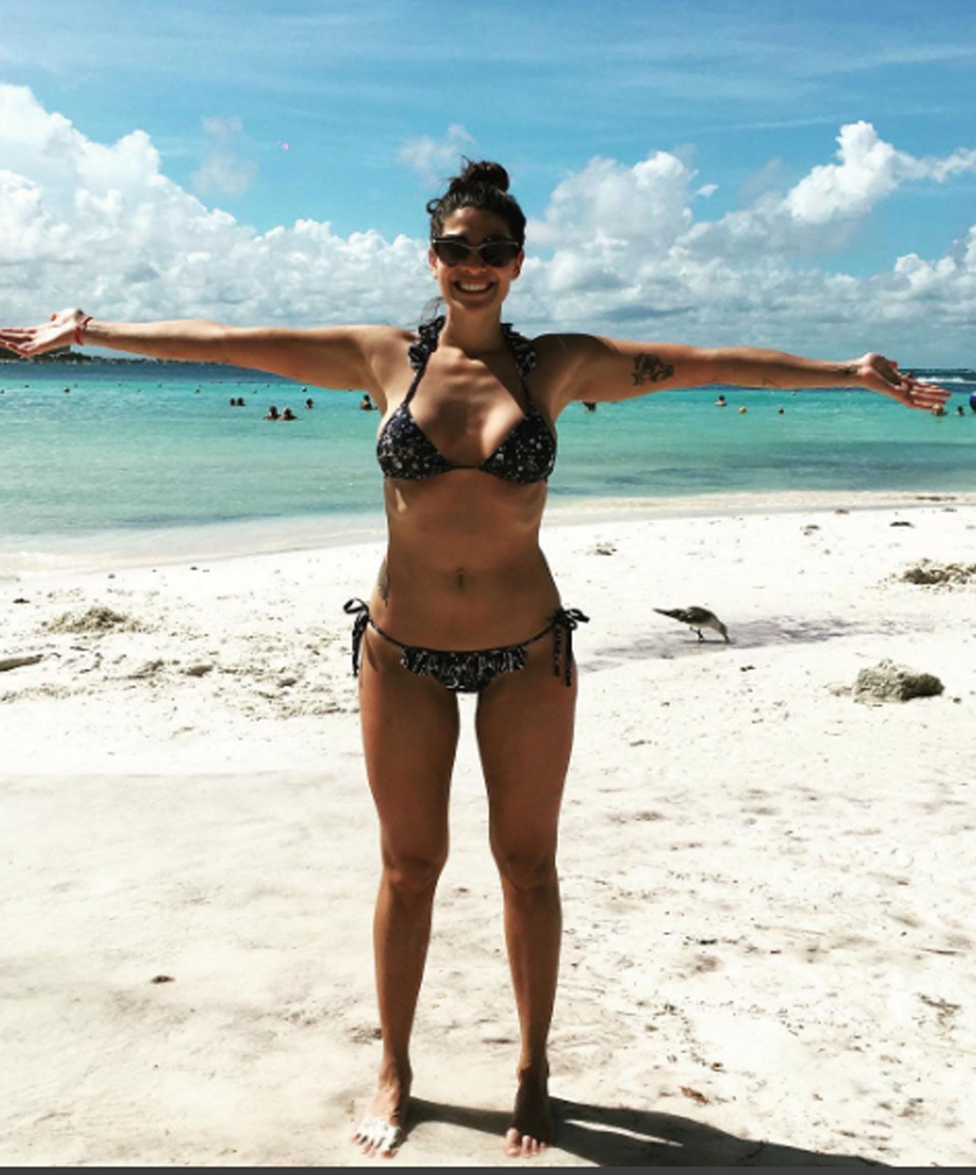 Ivana Nadal, una bomba en bikini