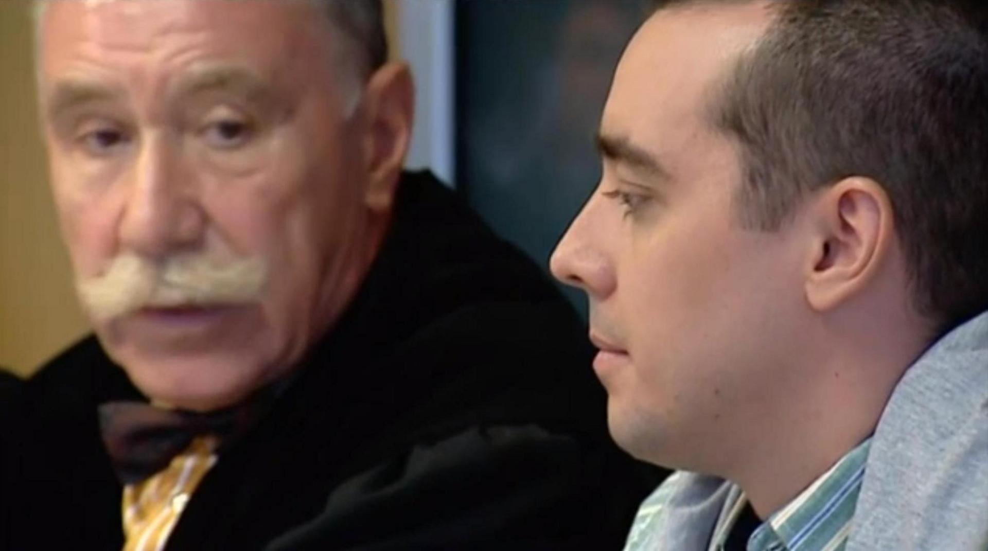 Hernández, durante el juicio (Captura de video)