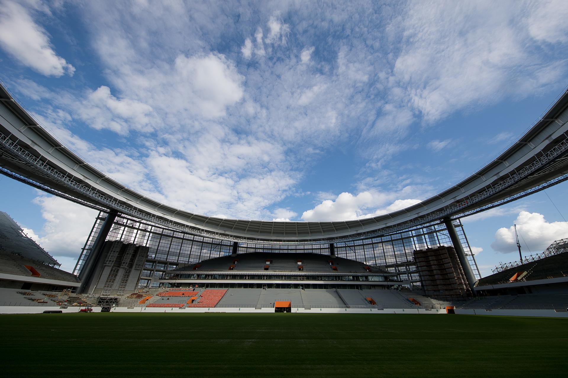 21 fotos del ekaterinburg arena el estadio m s extra o de for Estadio arena
