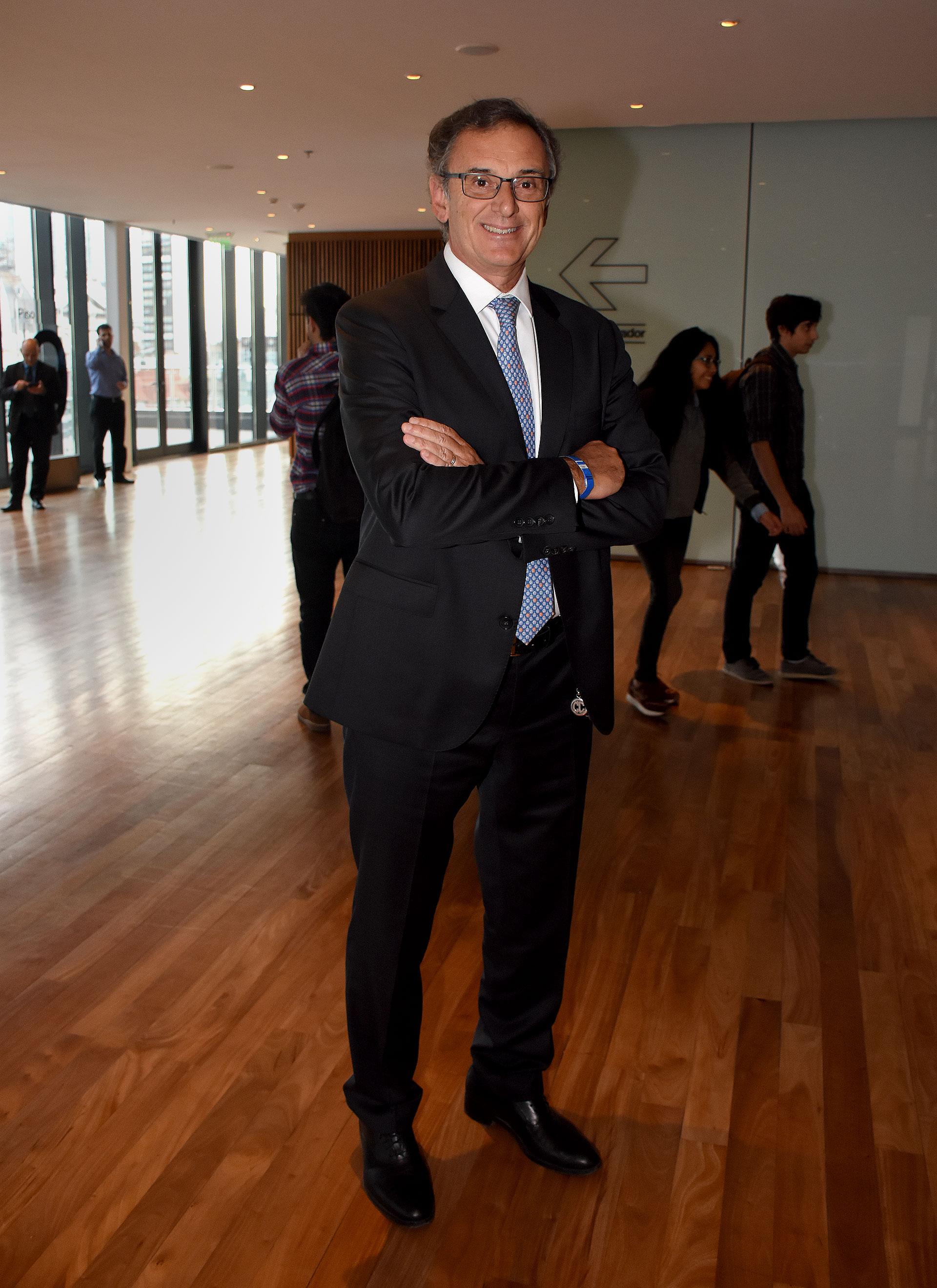 Claudio Cesario, presidente de la Asociación de Bancos de la Argentina