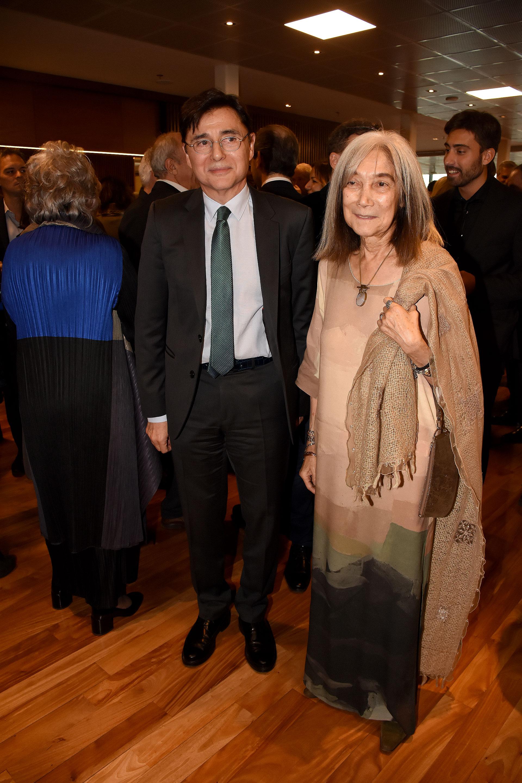 Jorge Fontevecchia y María Kodama