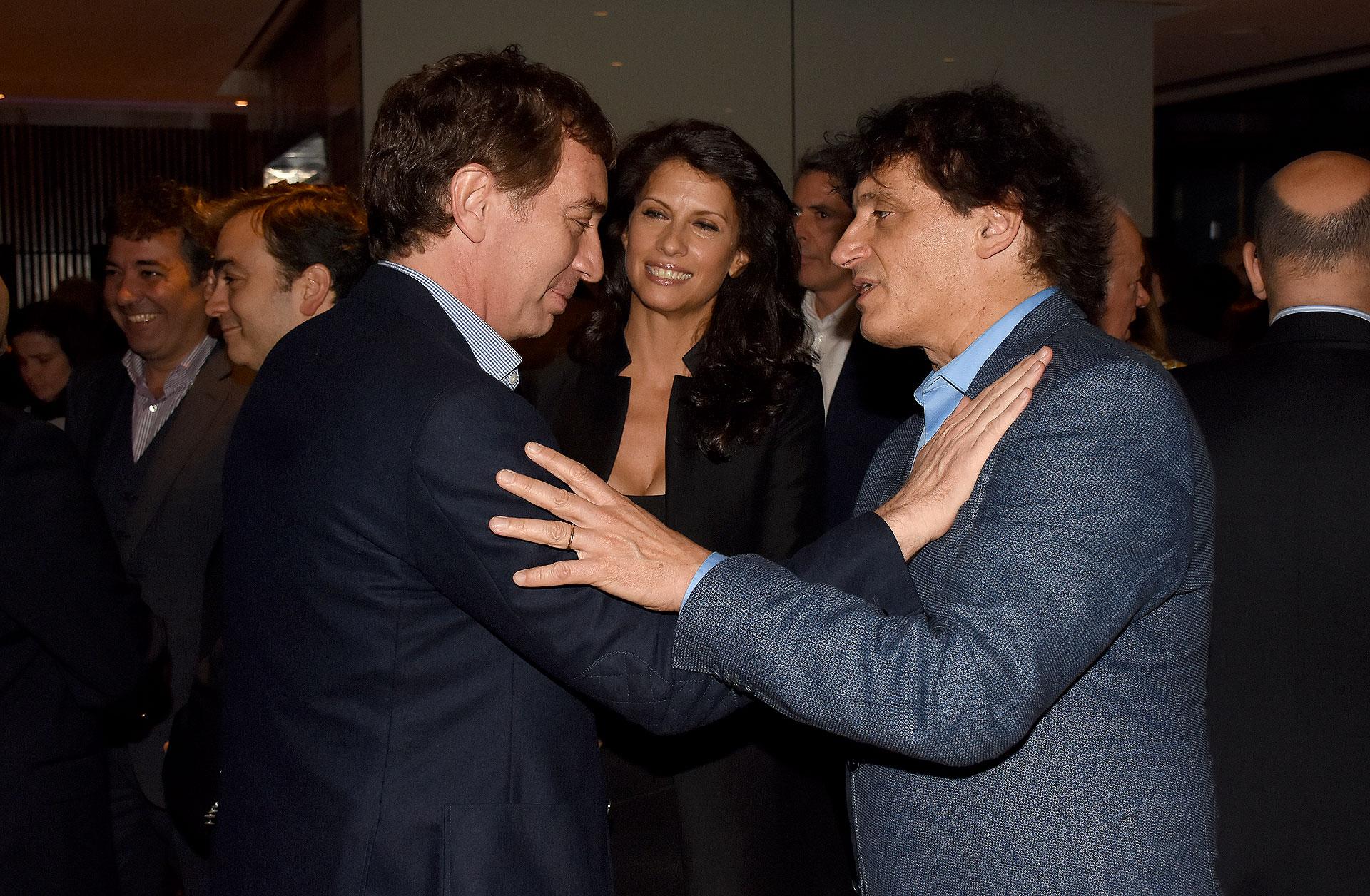 Diego Santilli, Analía Maiorana y Ángel Mahler