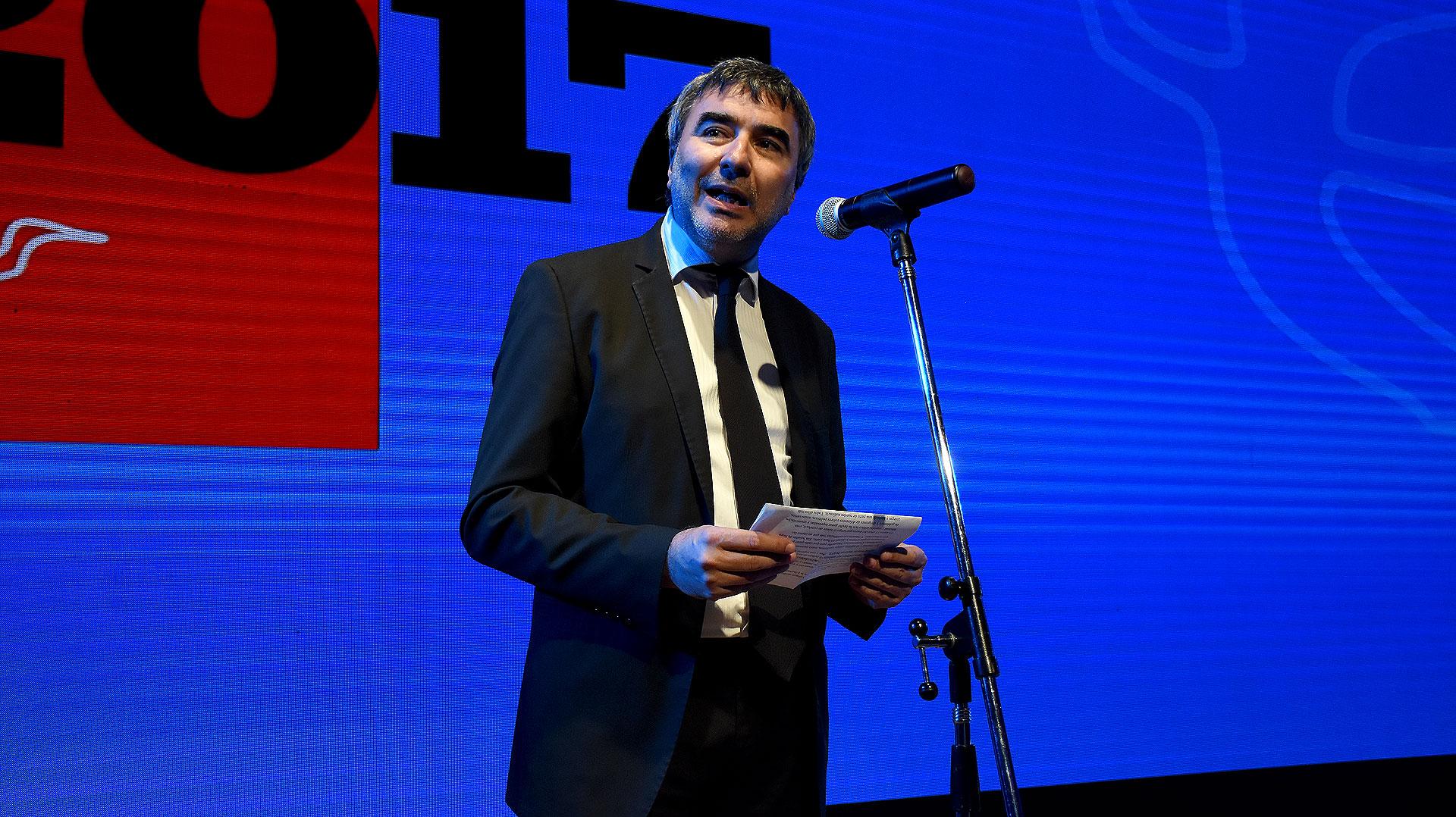 Javier Calvo, jefe de redacción del Diario Perfil