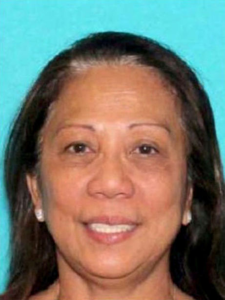 Marilou Danley en una imagen difundida por el Departamento de la Policía Metropolitana de Las Vegas