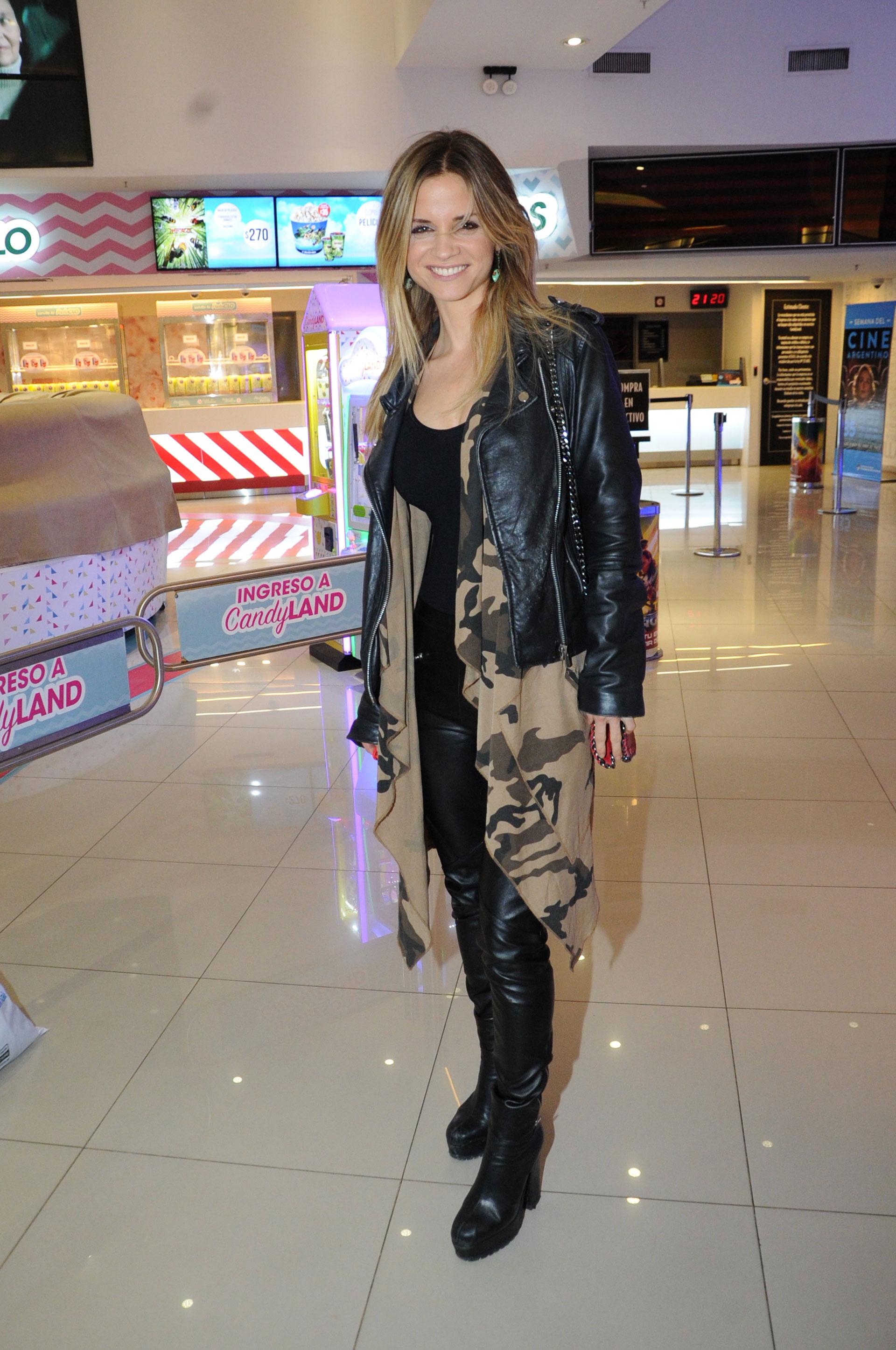 La actriz madrileña Paula Cancio, pareja de Miguel Ángel Solá