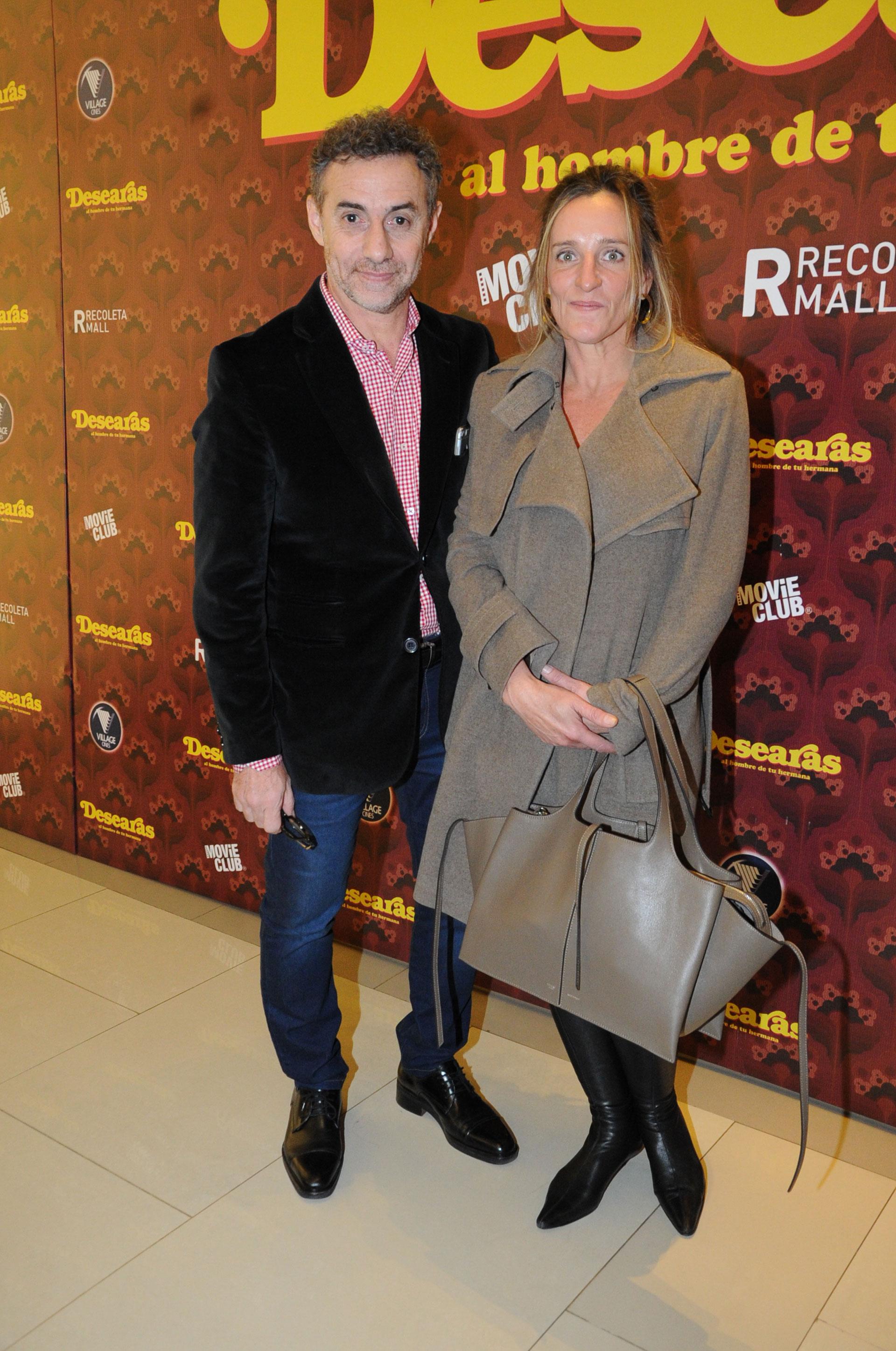 Luis Majul y su mujer