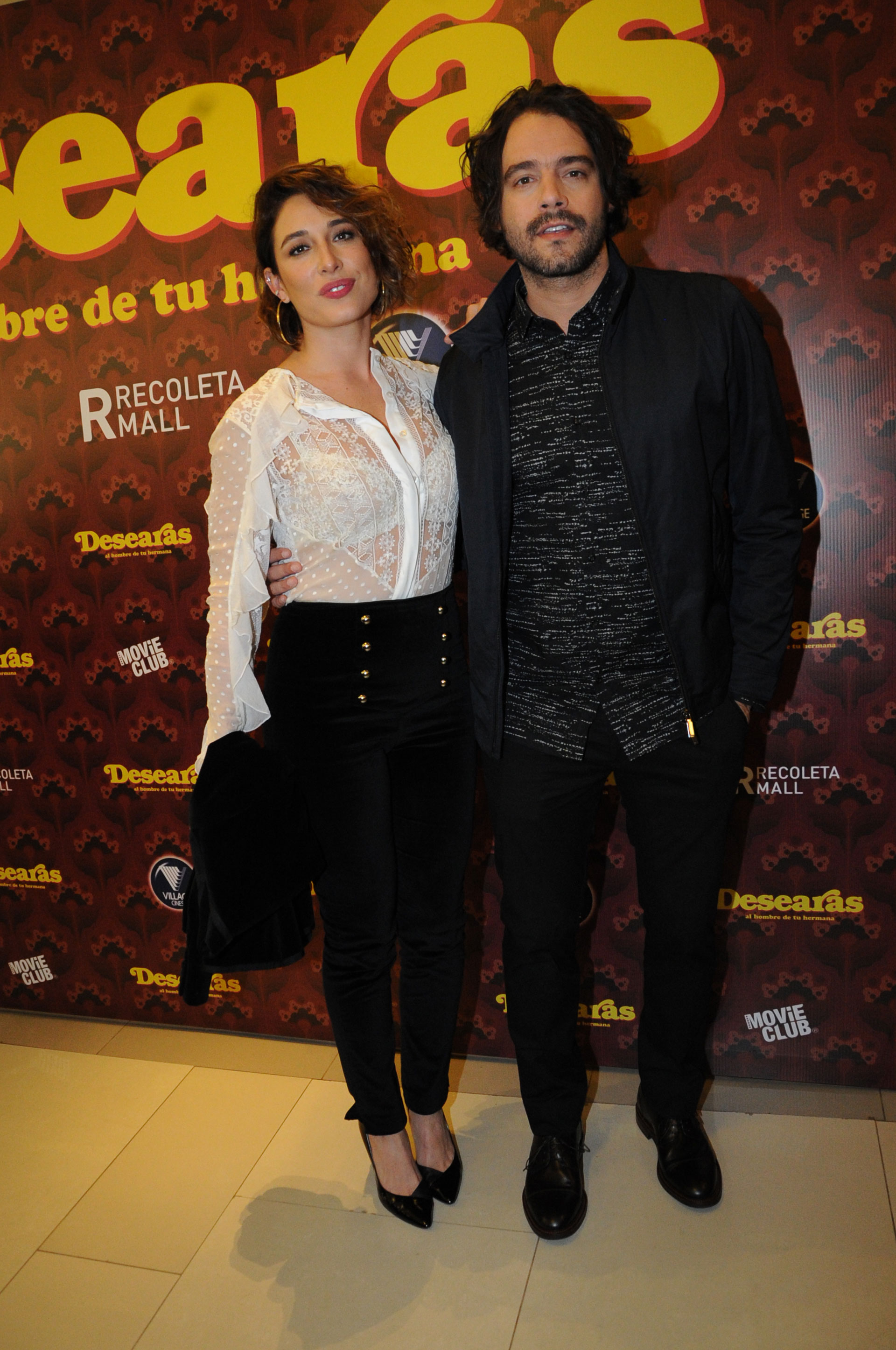 Guilherme Winter y su pareja Giselle Itié