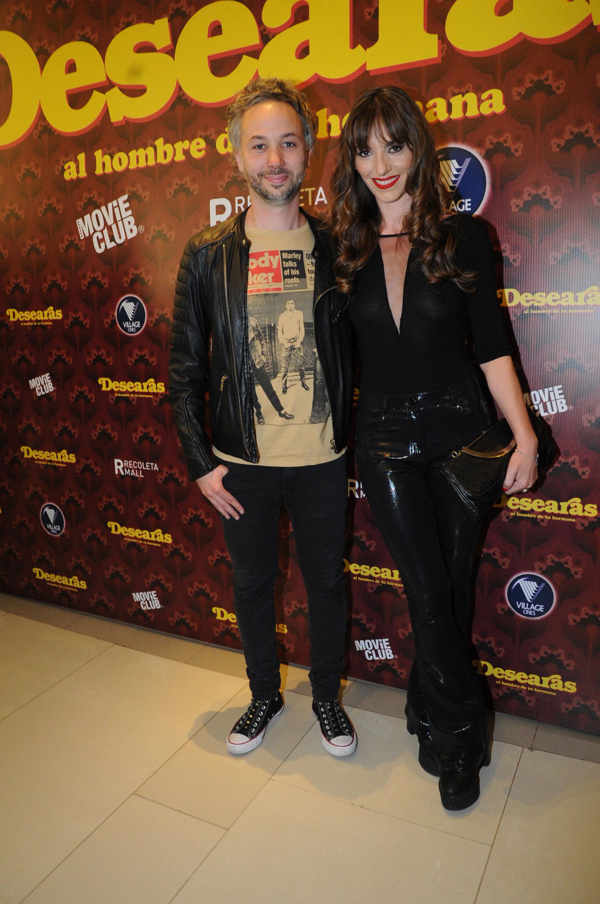Diego Iglesias y su pareja, la escritora Erika Halvorsen
