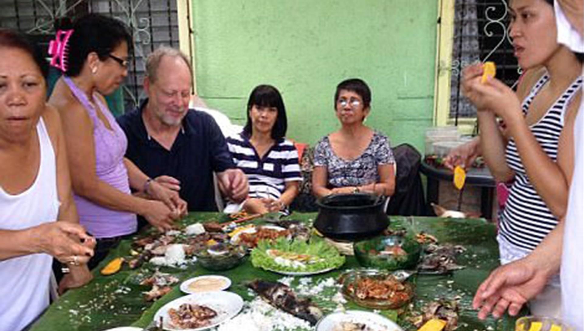 Stephen Paddock y su novia Marilou Danley, en un viaje a Filipinas