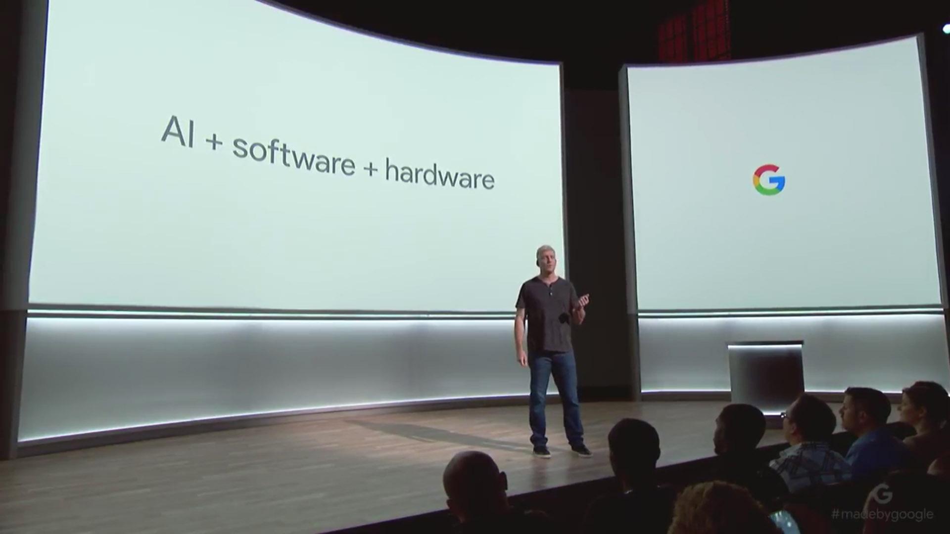 Rick Osterloh, el ex presidente de Motorola y actual vicepresidente de Hardware de Google