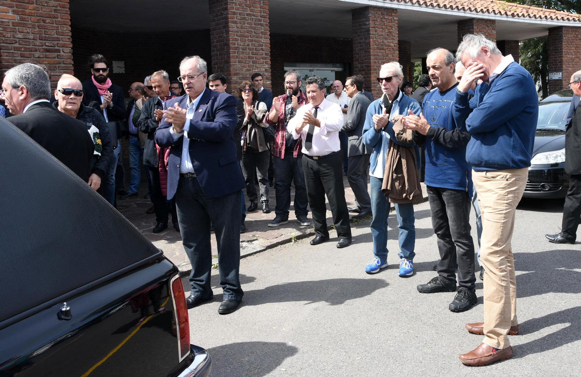 El último adiós a Edgardo Antoñana