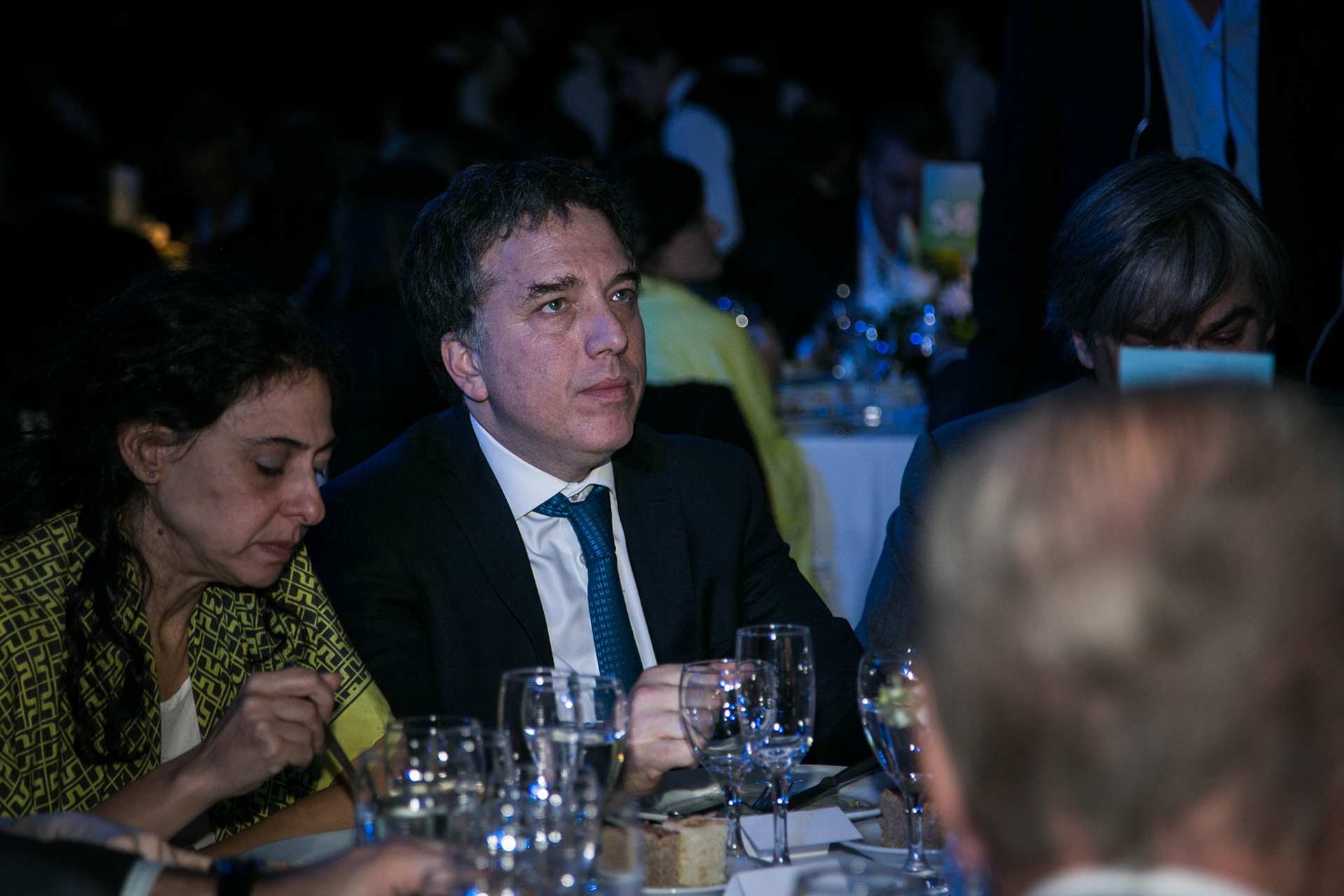 El Ministro de Hacienda, Nicolás Dujovne junto a su esposa, Carolina Yellati