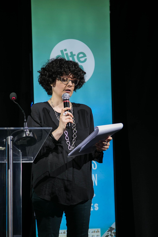Paula Bruno, la Directora del Departamento de Estudios Históricos y Sociales de la Universidad Torcuato Di Tella