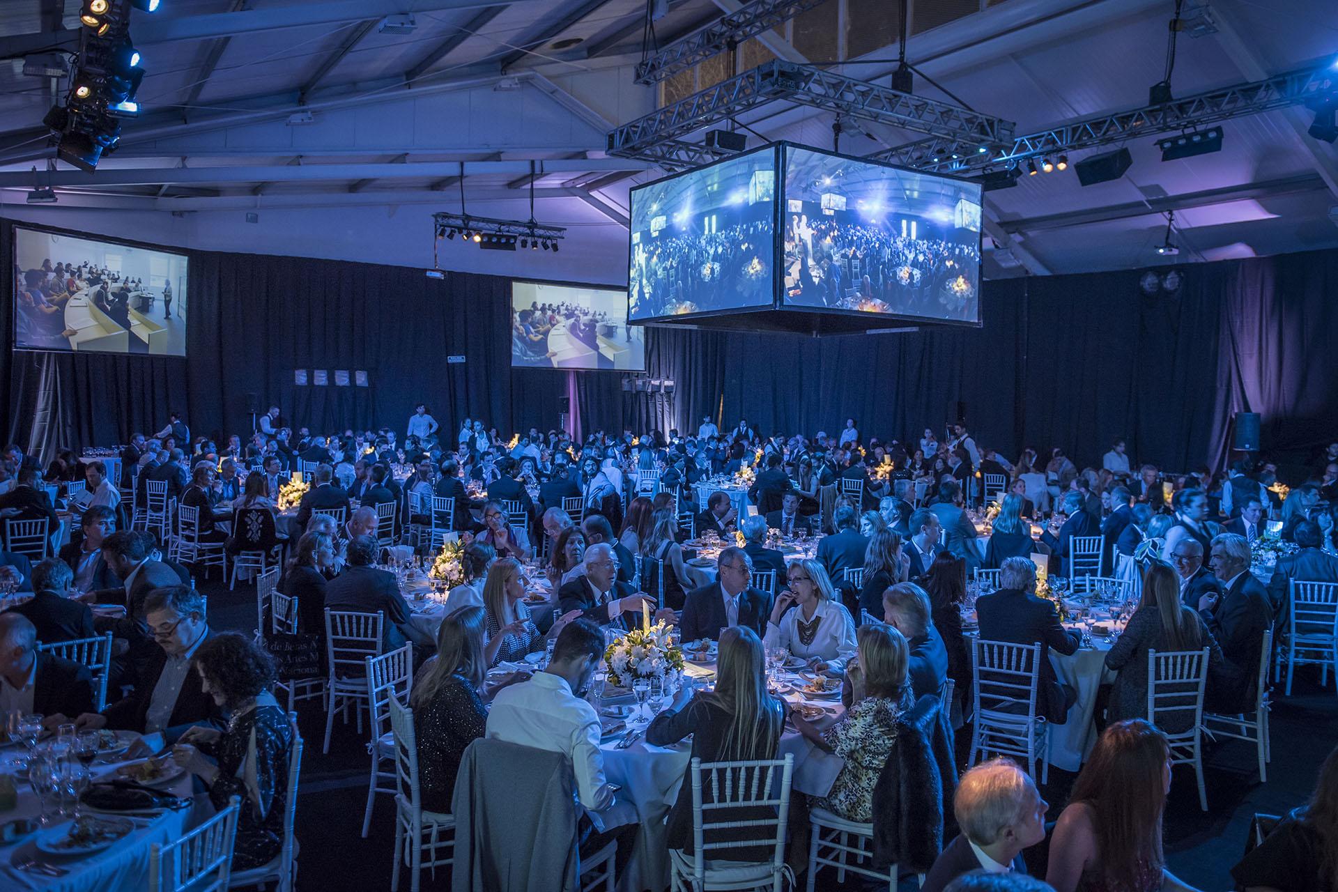 La organizacion de la cena anual estuvo a cargo del 'Desarrollo Institucional de la Universidad Torcuato Di Tella'