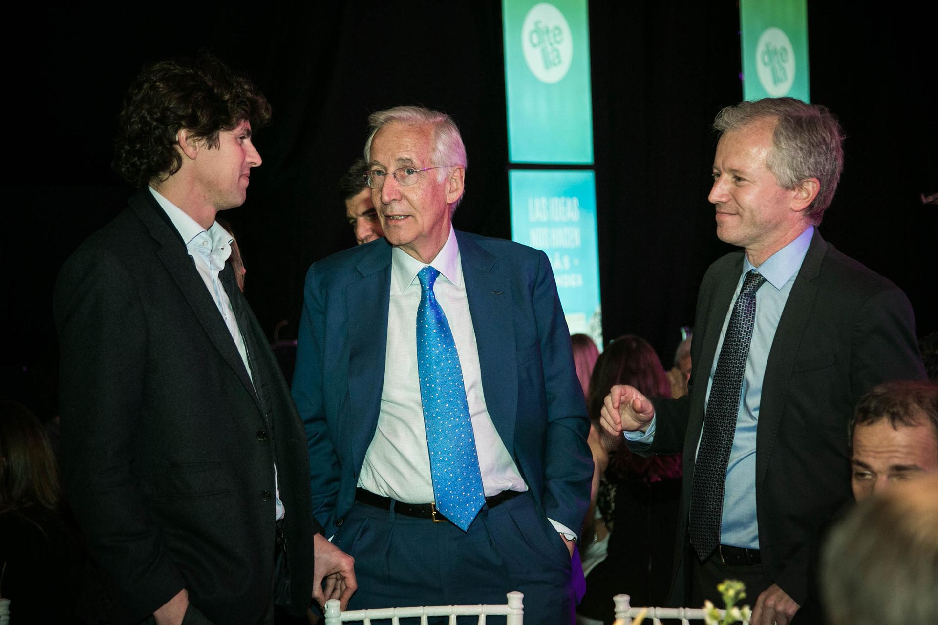 Martin Lousteau, Andrés Von Buch y Ernesto Schargrodsky