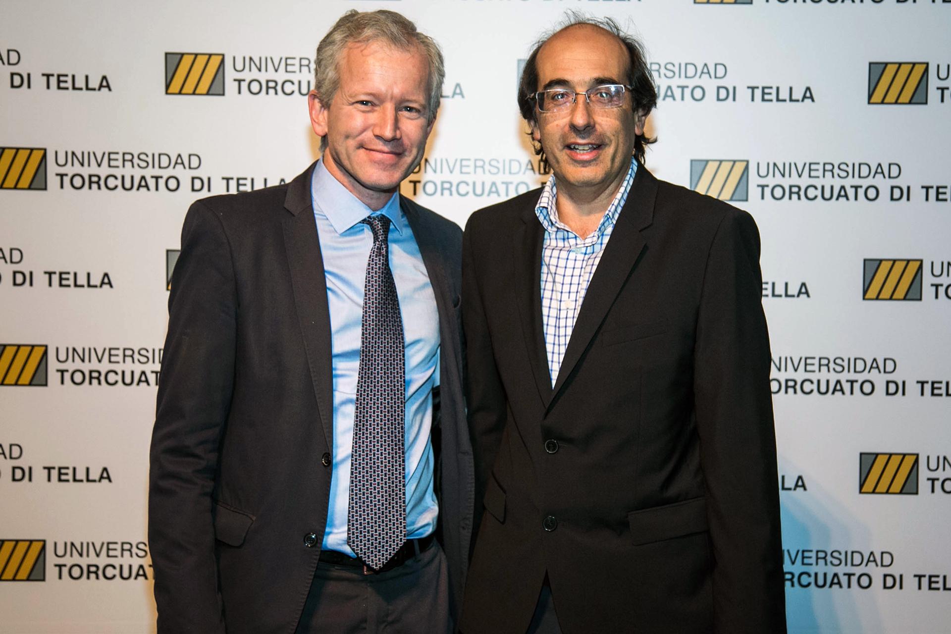 Ernesto Schargrodsky y Damian Scokin, CEO de Despegar