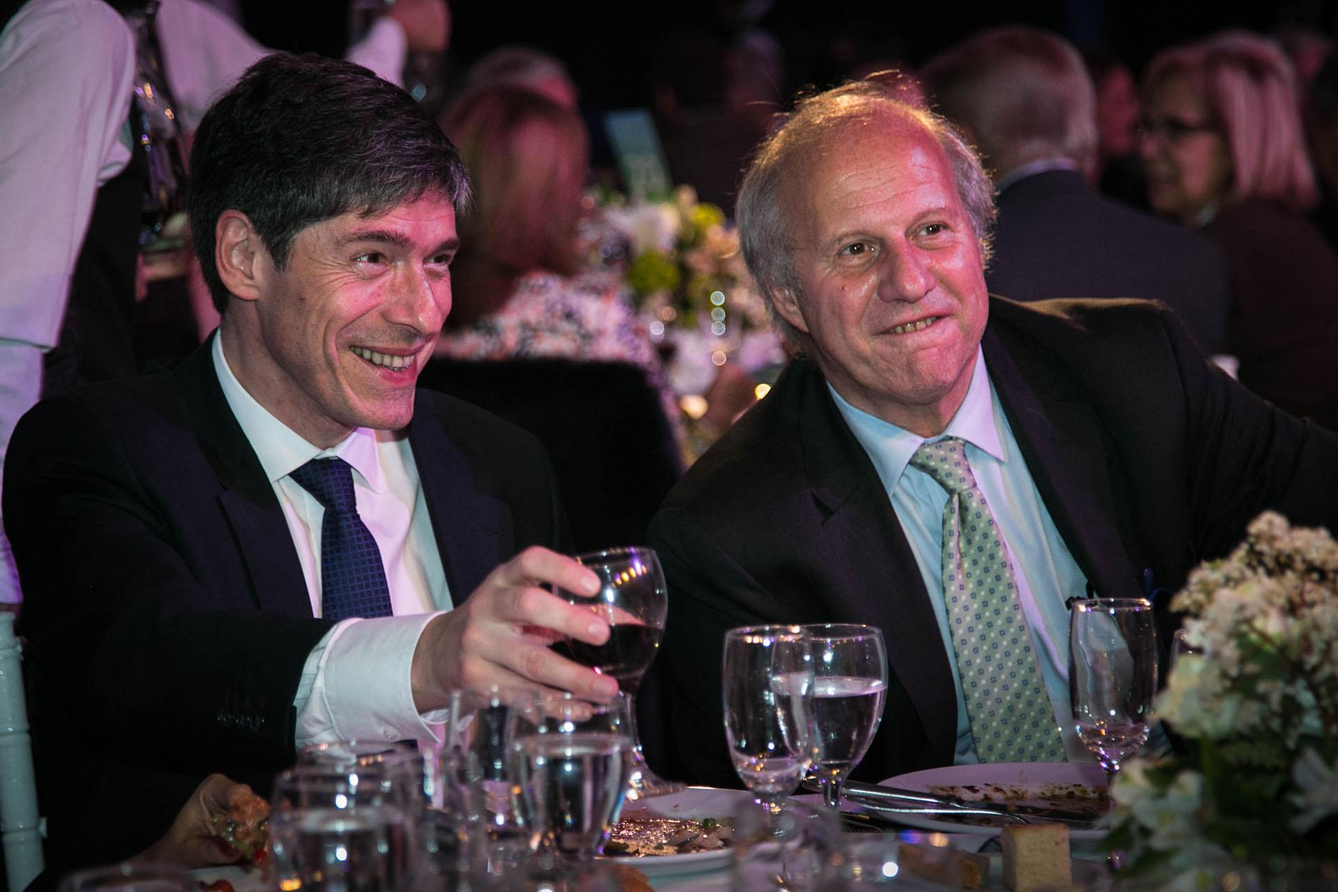 Juan Manuel Abal Medina y Gerardo Della Paolera