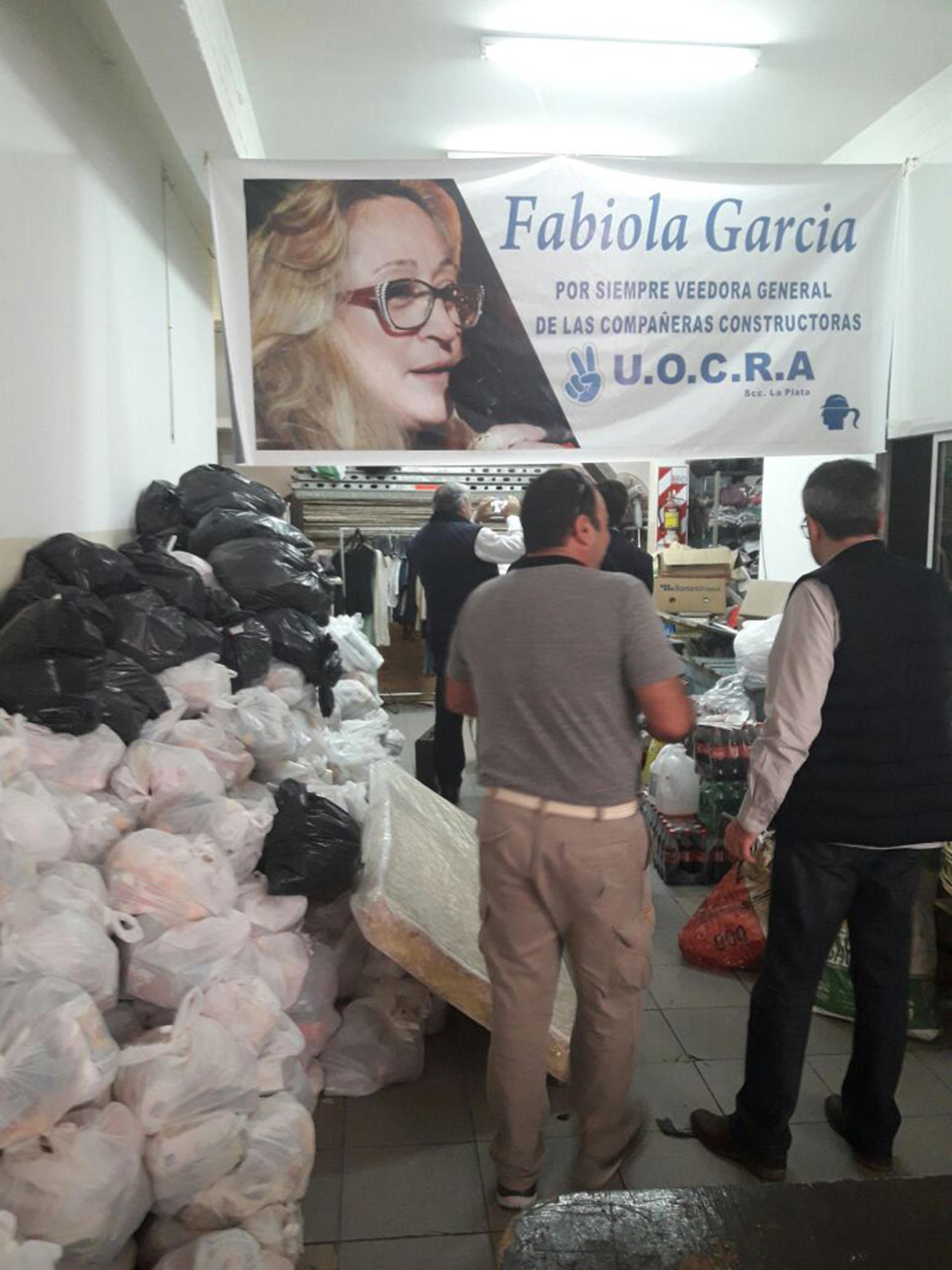 Por orden de la Justicia se intervino la filial La Plata de la UOCRA