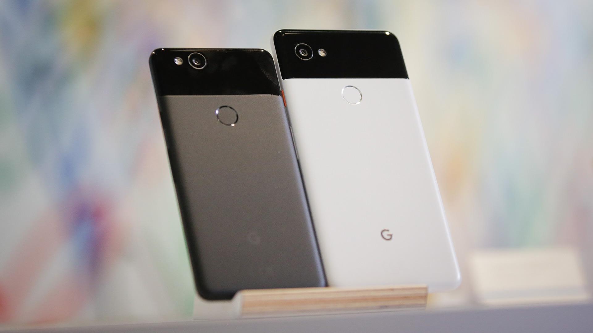 Los nuevos teléfonos inteligentes de Google: Pixel 2 y Pixel 2 XL
