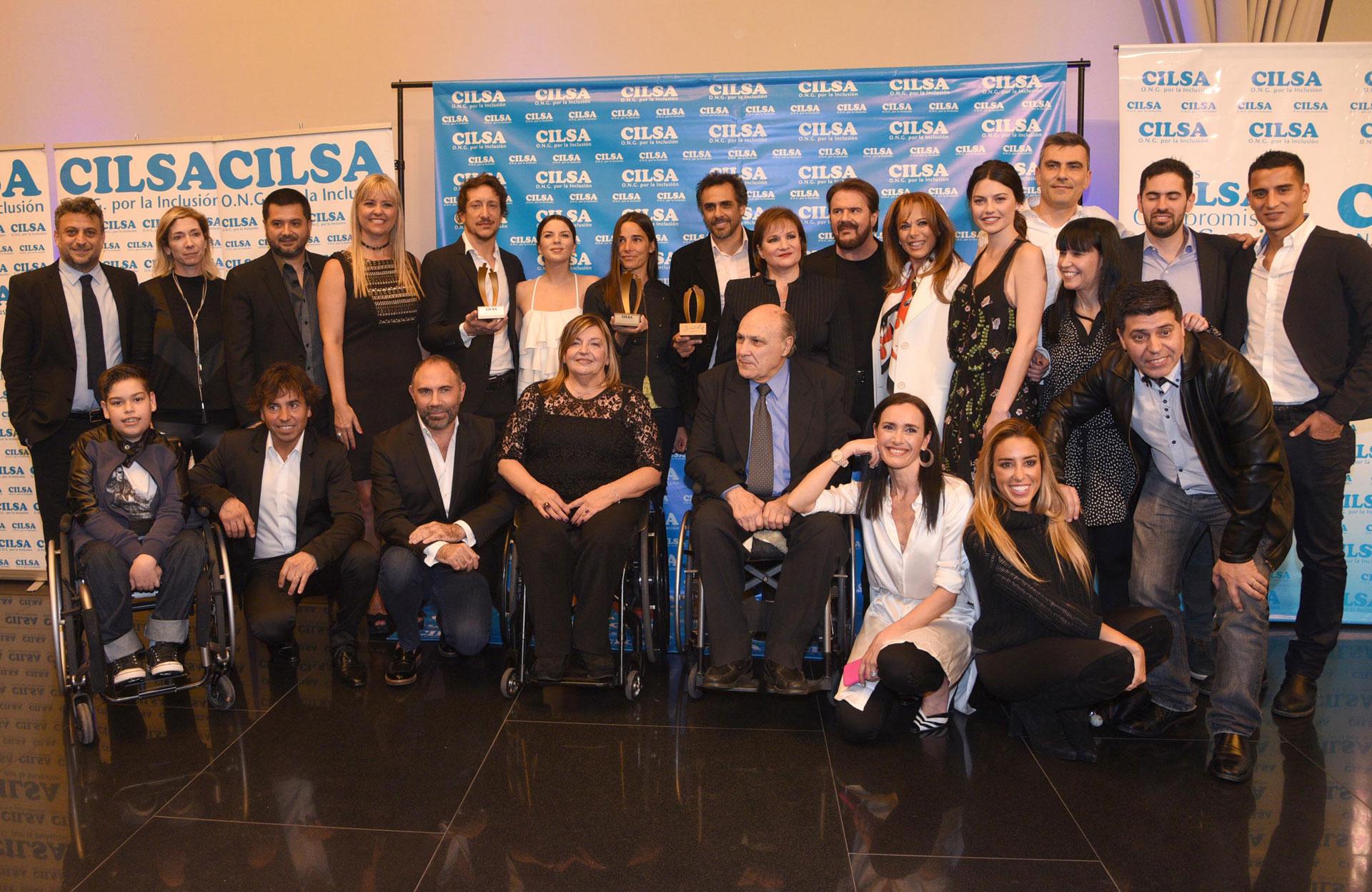 CILSA realizó la gala de los Premios al Compromiso Social. Fueron reconocidos Lucía y Joaquín Galán, Juana Viale, Nico Vázquez, Mariana Fabbiani e Iliana Calabró, entre otros (Teleshow)