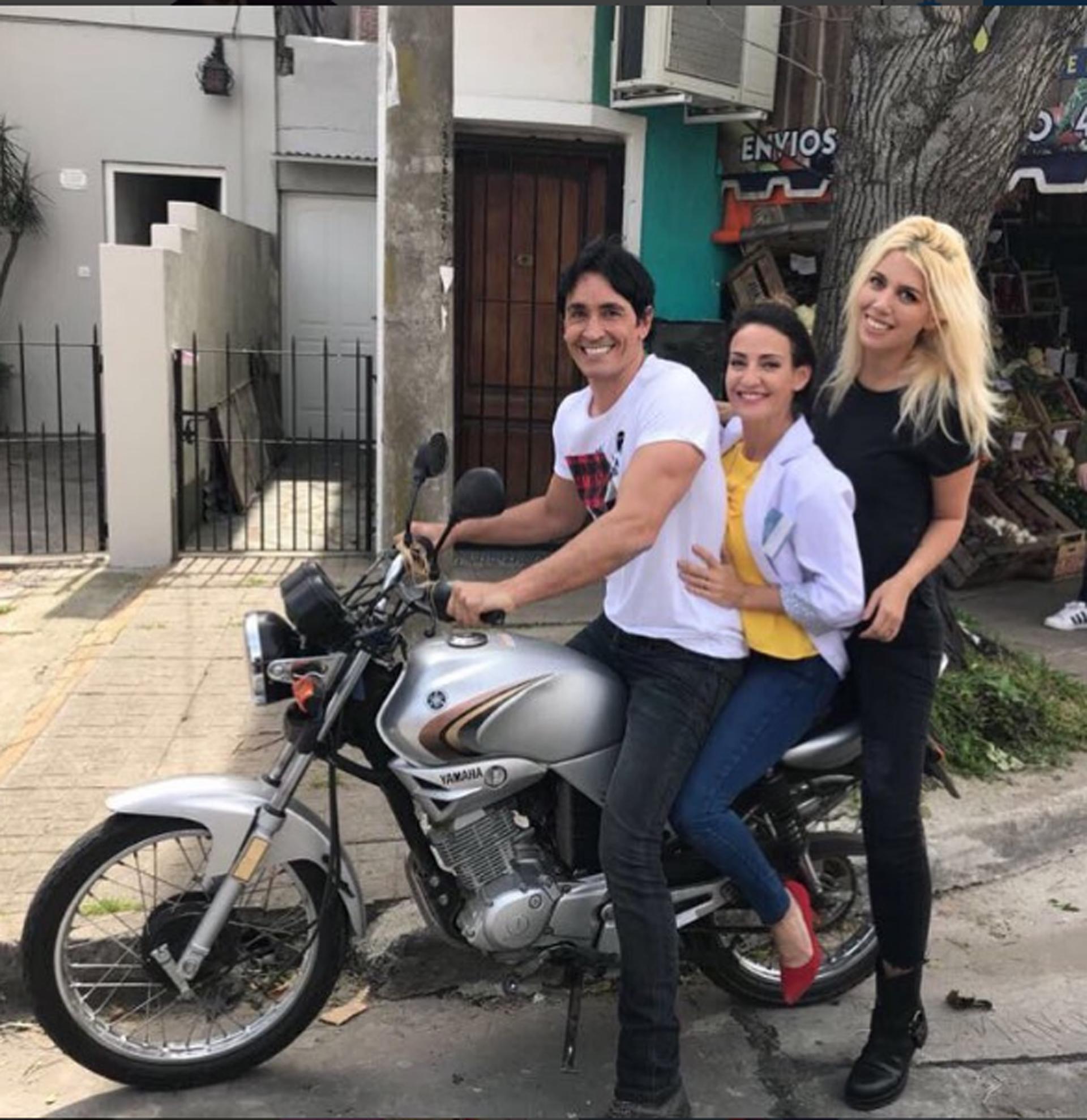 """Wanda Nara grabó un cameo en """"Golpe al corazón"""" con Sebastián Estevanez y Eleonora Wexler. Además, la esposa de Mauro Icardi se prepara para realizar su debut en la pantalla grande"""