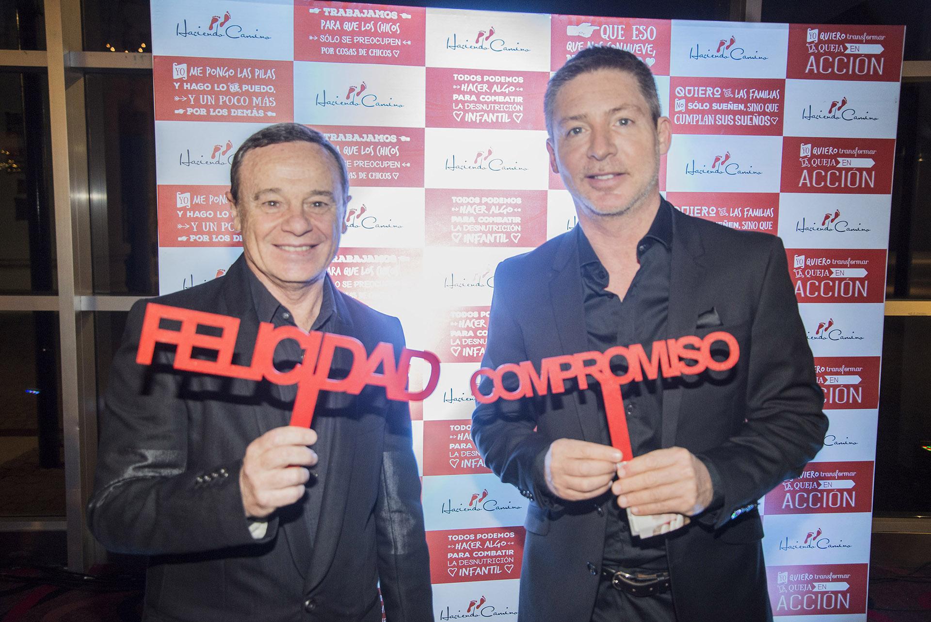 Pablo Codevilla y Adrián Suar