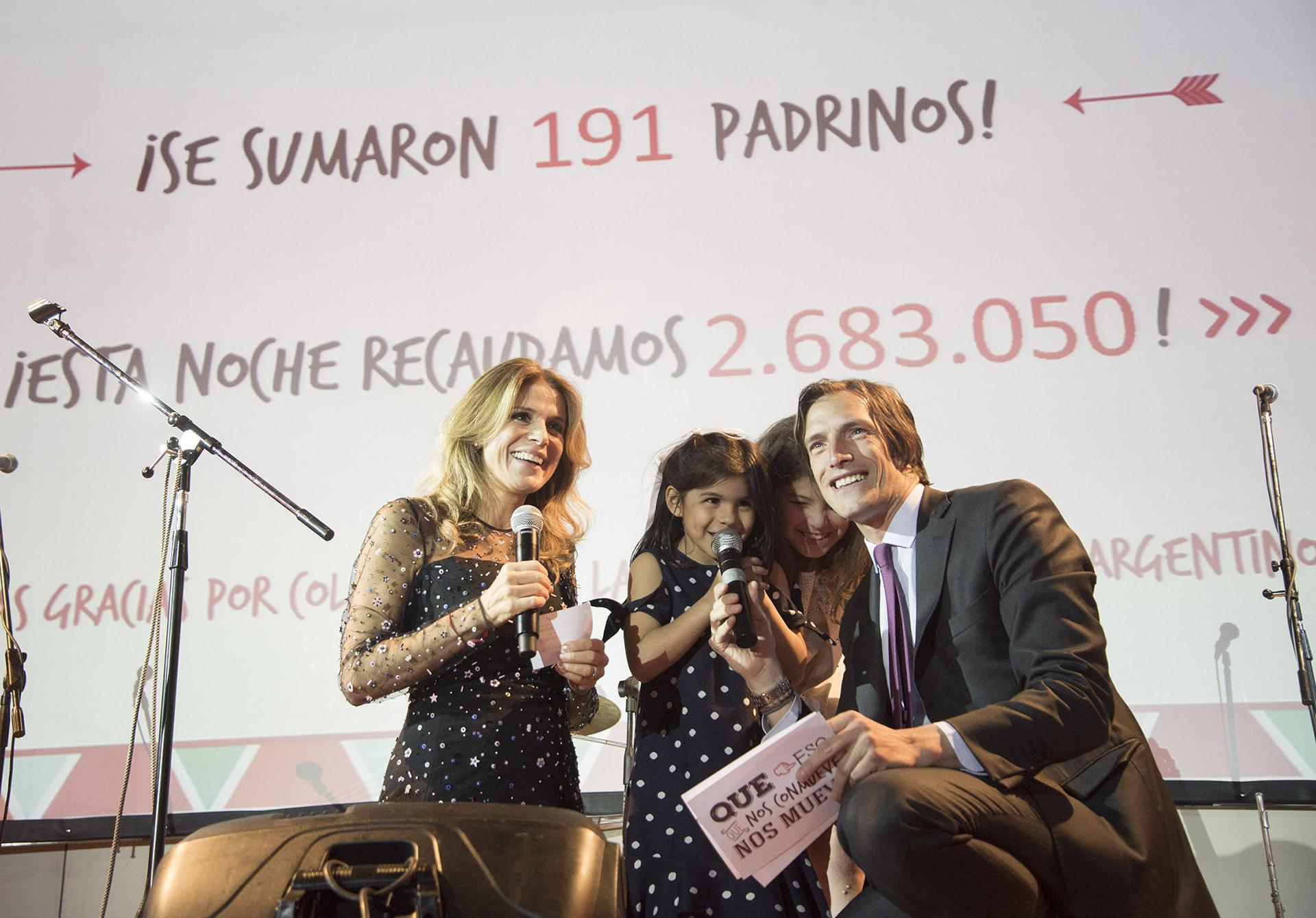 Flavia Palmiero e Iván De Pineda