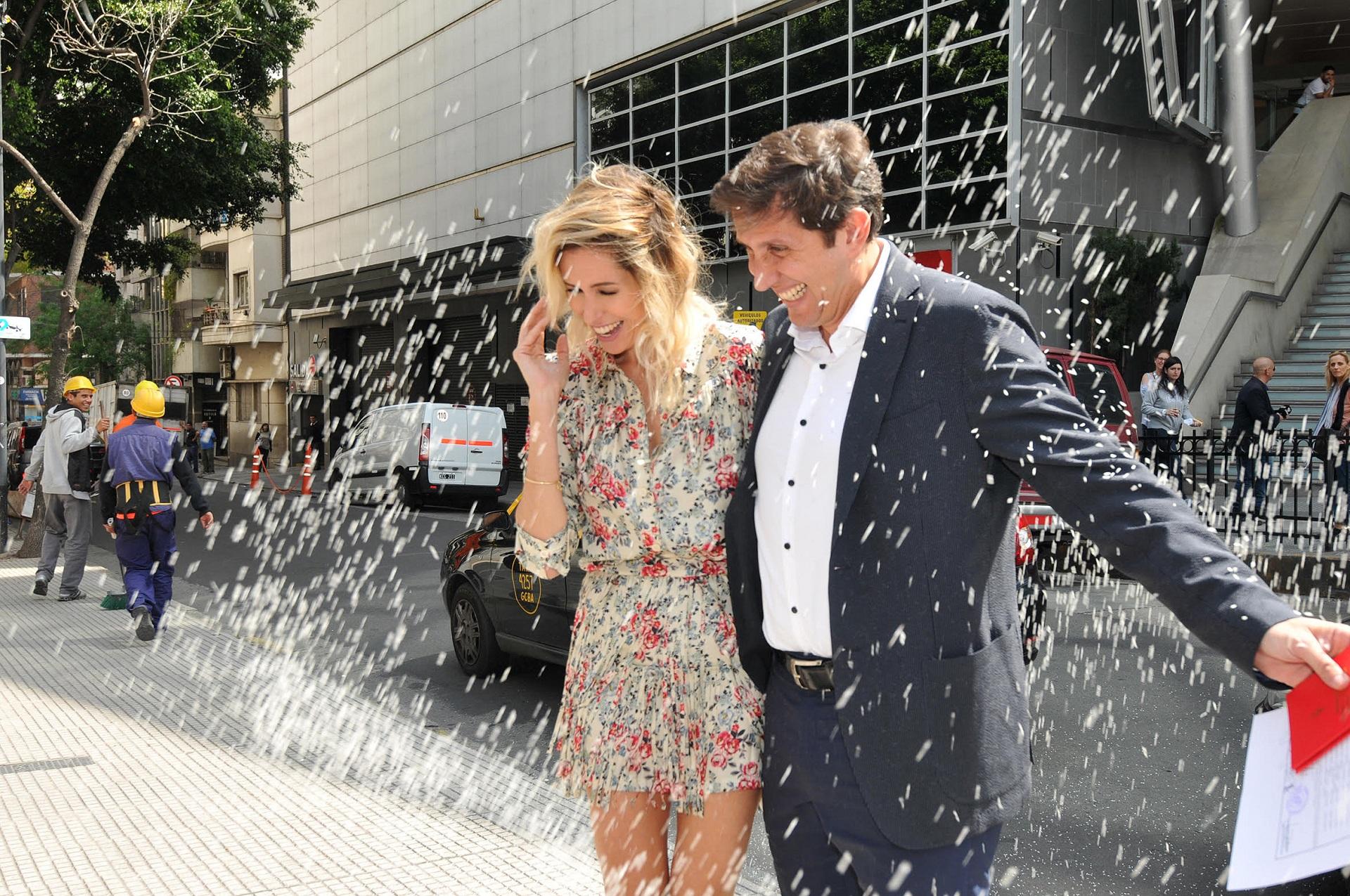 Se casó el periodista Juan Pablo Varsky con María Laura Bruzoni, la directora de comunicaciones del Ministerio de Modernización, Innovación y Tecnología (Teleshow)