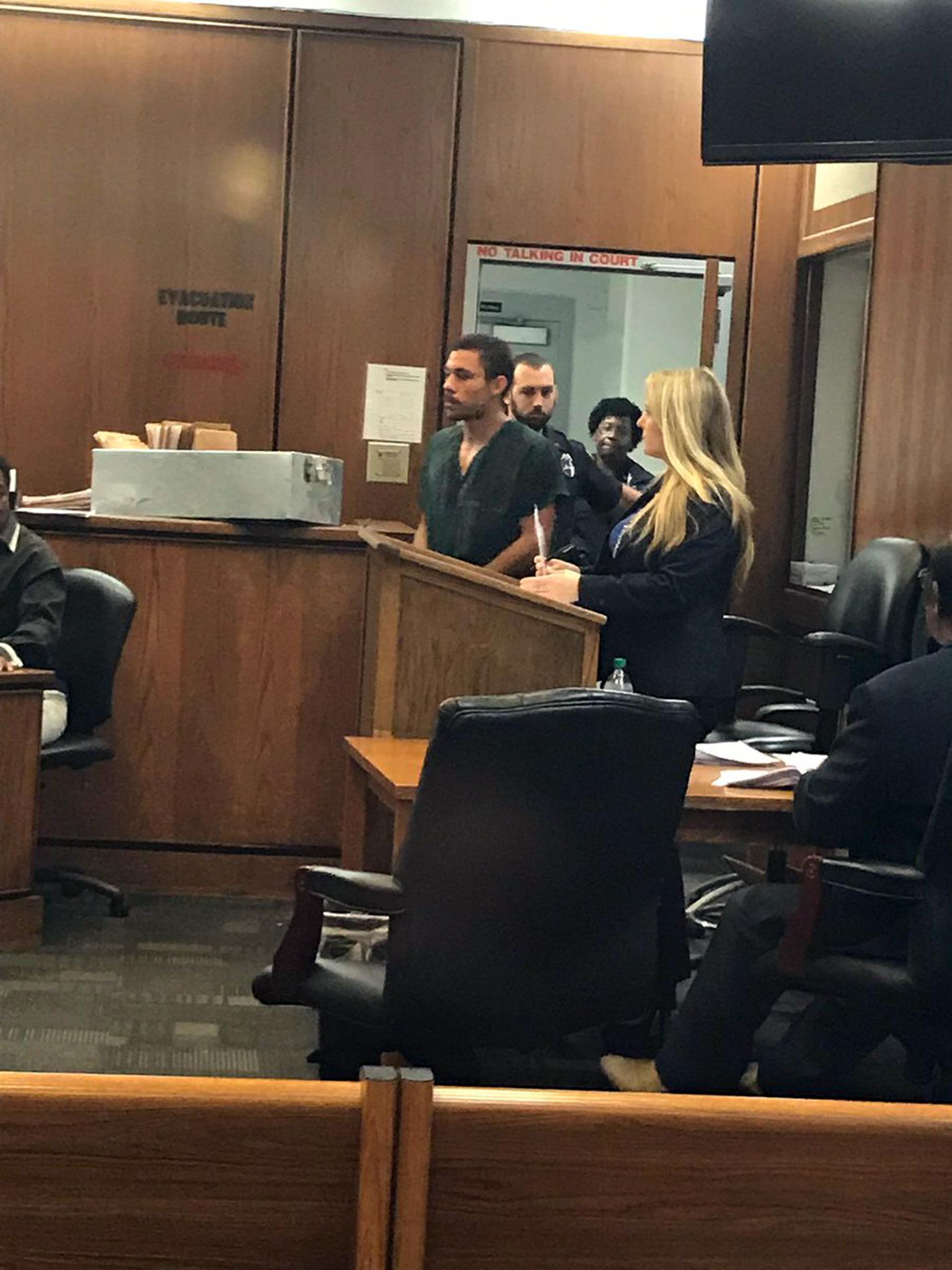 Lee Rodarte Jr. se presenta ante la Corte que lo juzgará por el crimen de Savannah Gold