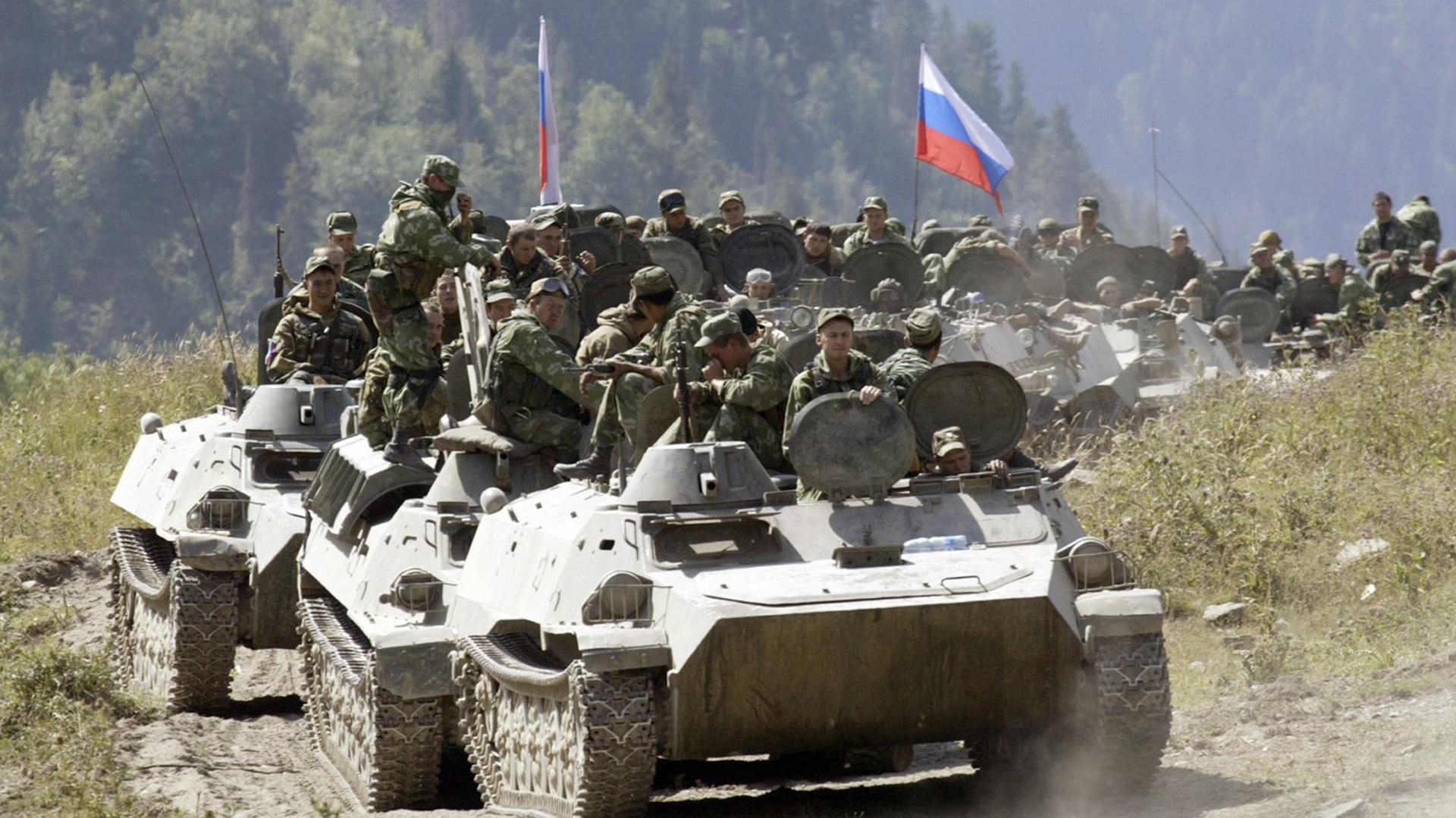 Tropas rusas en Siria