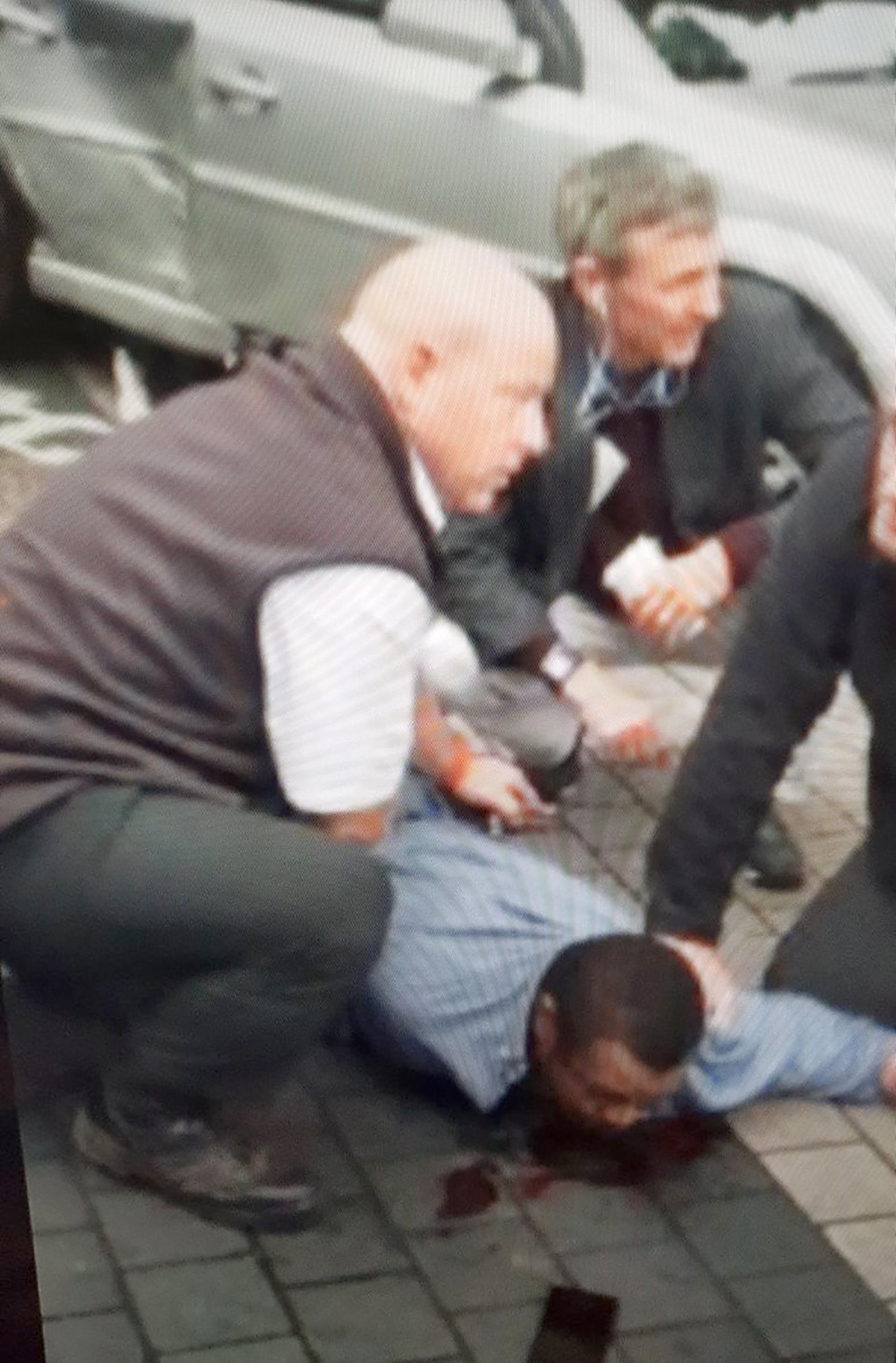 Así arrestaban al conductor de Londres