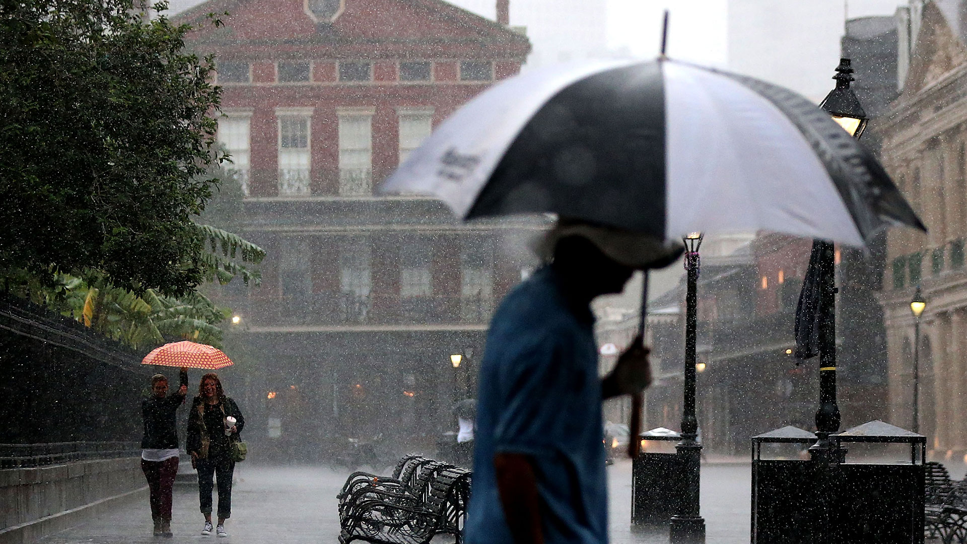 El huracán llegó a EEUU (AFP)