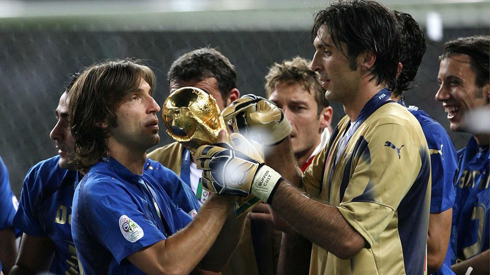 Buffon fue campeón del mundo con Italia en el Mundial 2006