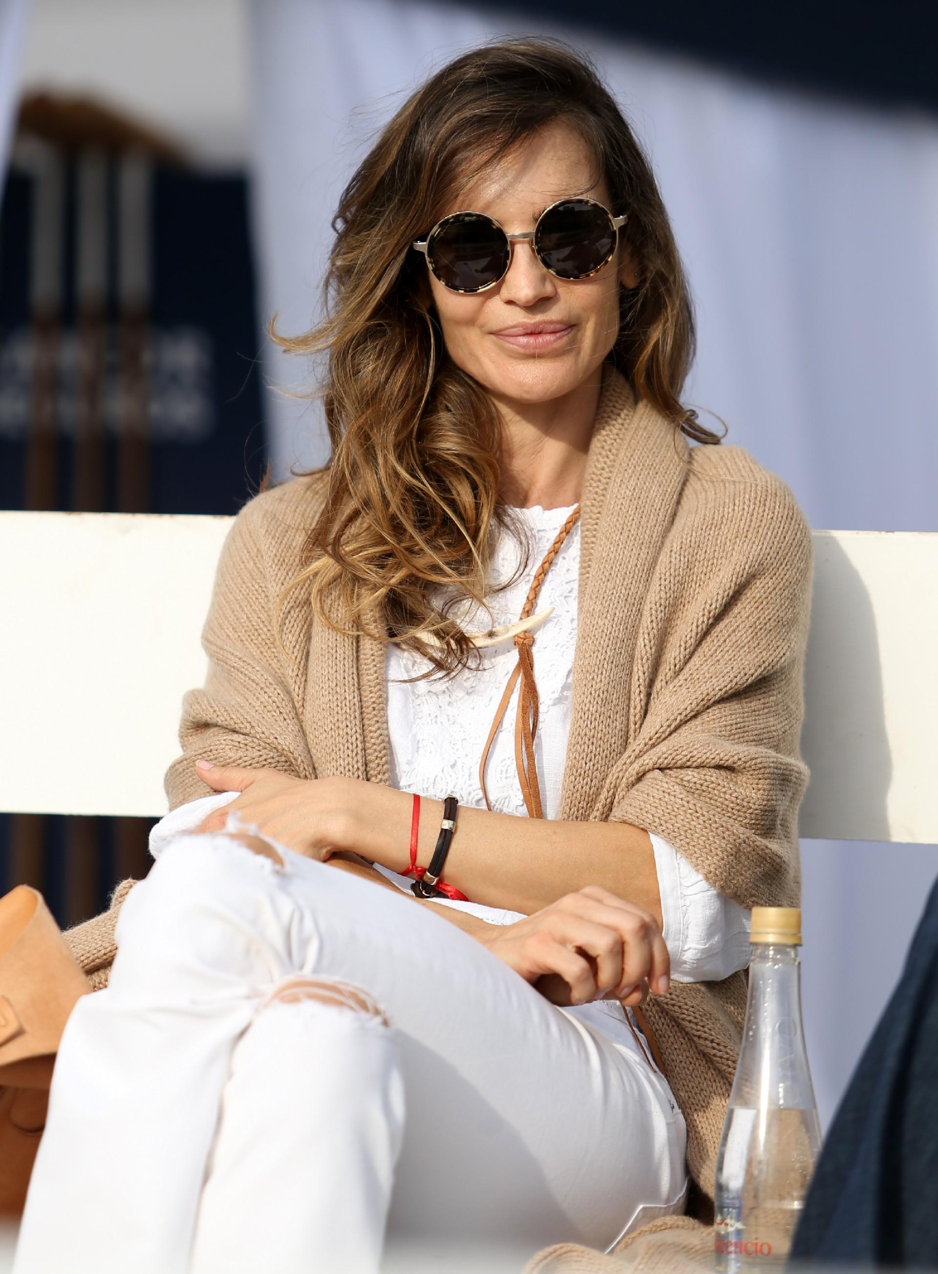 María Vázquez siguió con detalle cada momento de la final