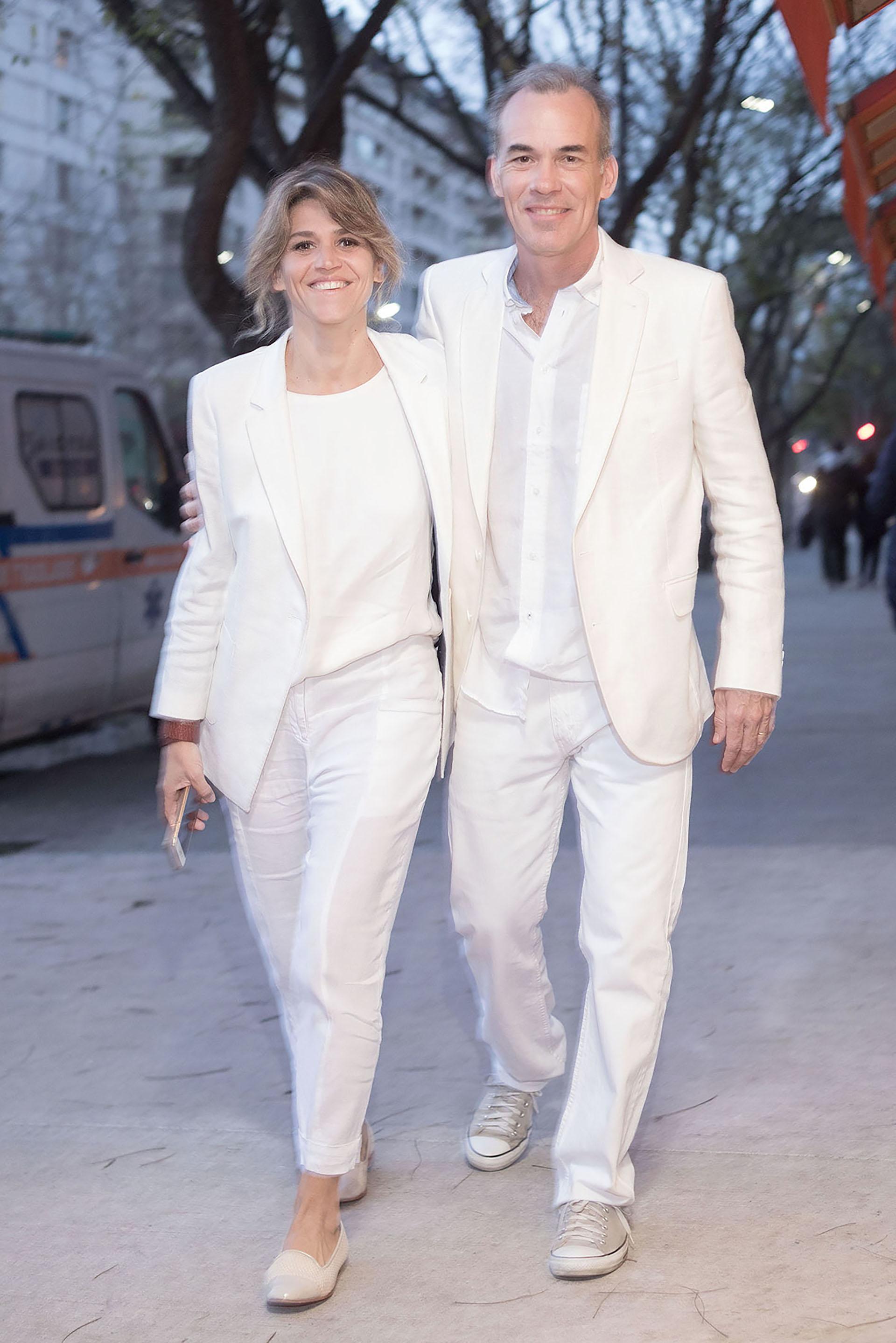 María Freytes y su marido /// Crédito: Créditos Malcolm MacGibbon – Grupo Mass PR