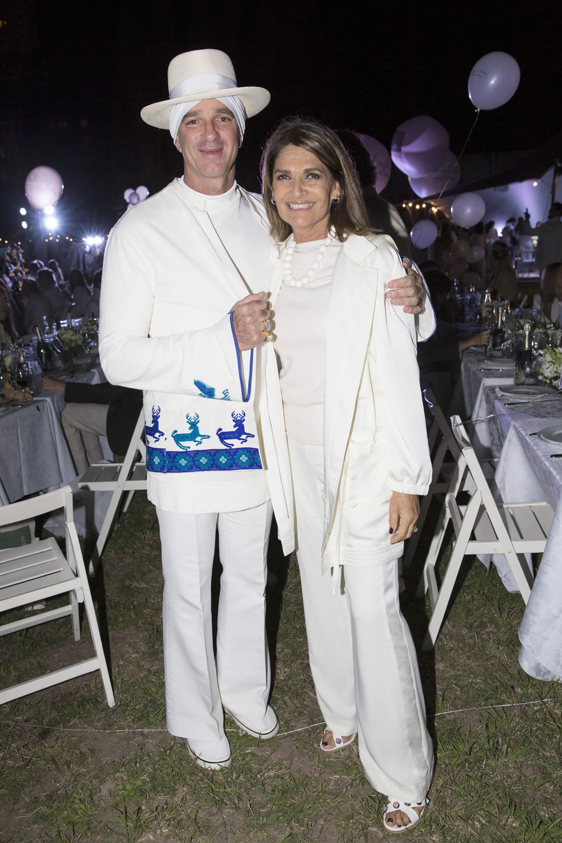 Alan Faena y Teresa Calandra