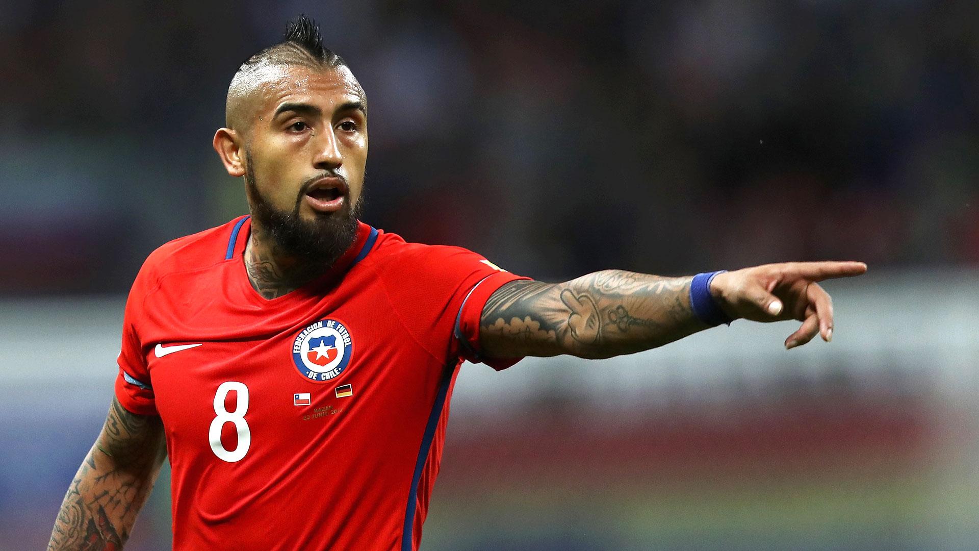 """El delantero chileno Arturo Vidal encabeza a """"La Roja"""" para fecha FIFA contra México y EEUU (Foto: Archivo)"""