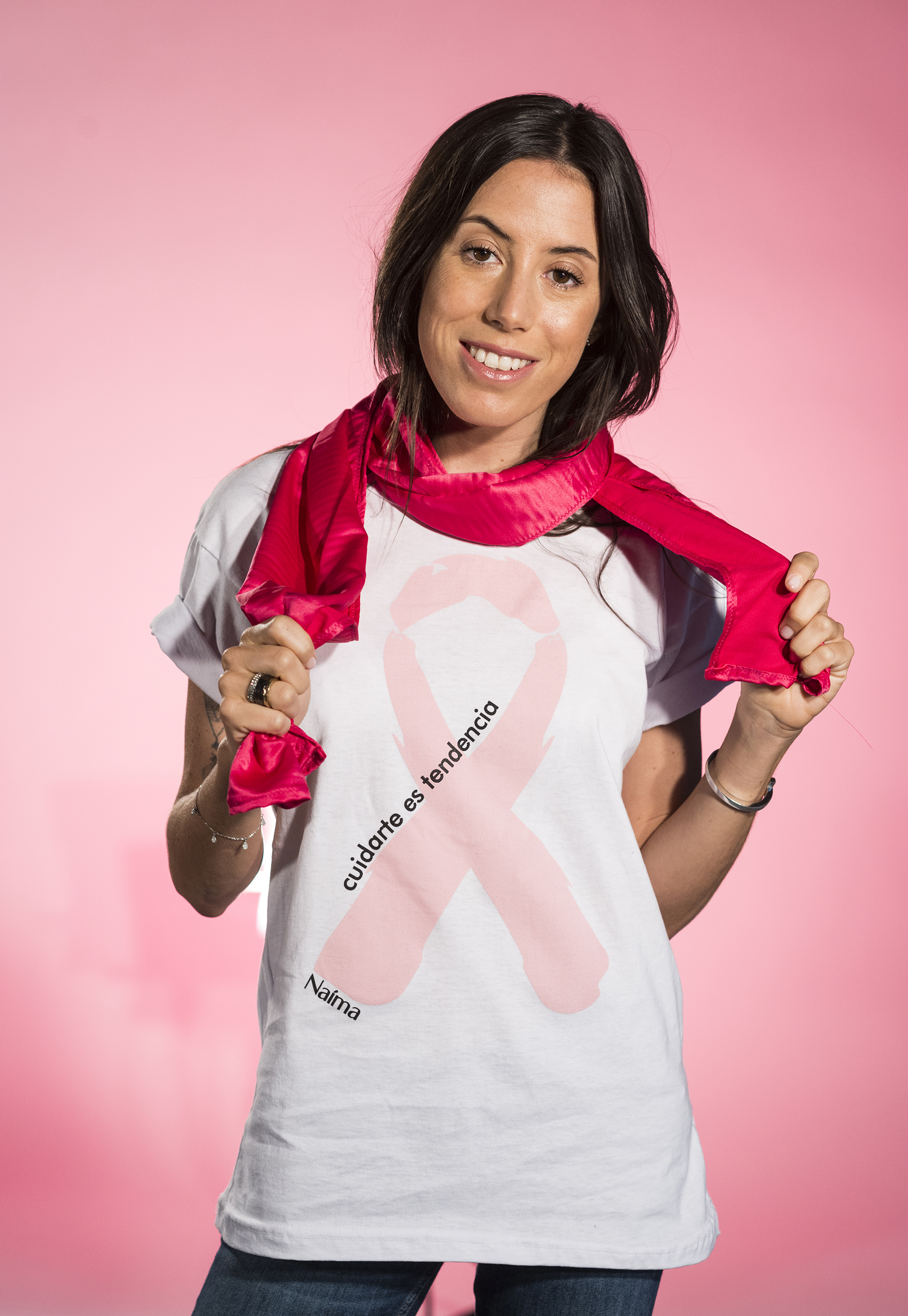 La joven diseñadora Sofía brindó su apoyo en el mes rosa y resaltó el cuidado diario pero desde un hábito saludable no obsesivo