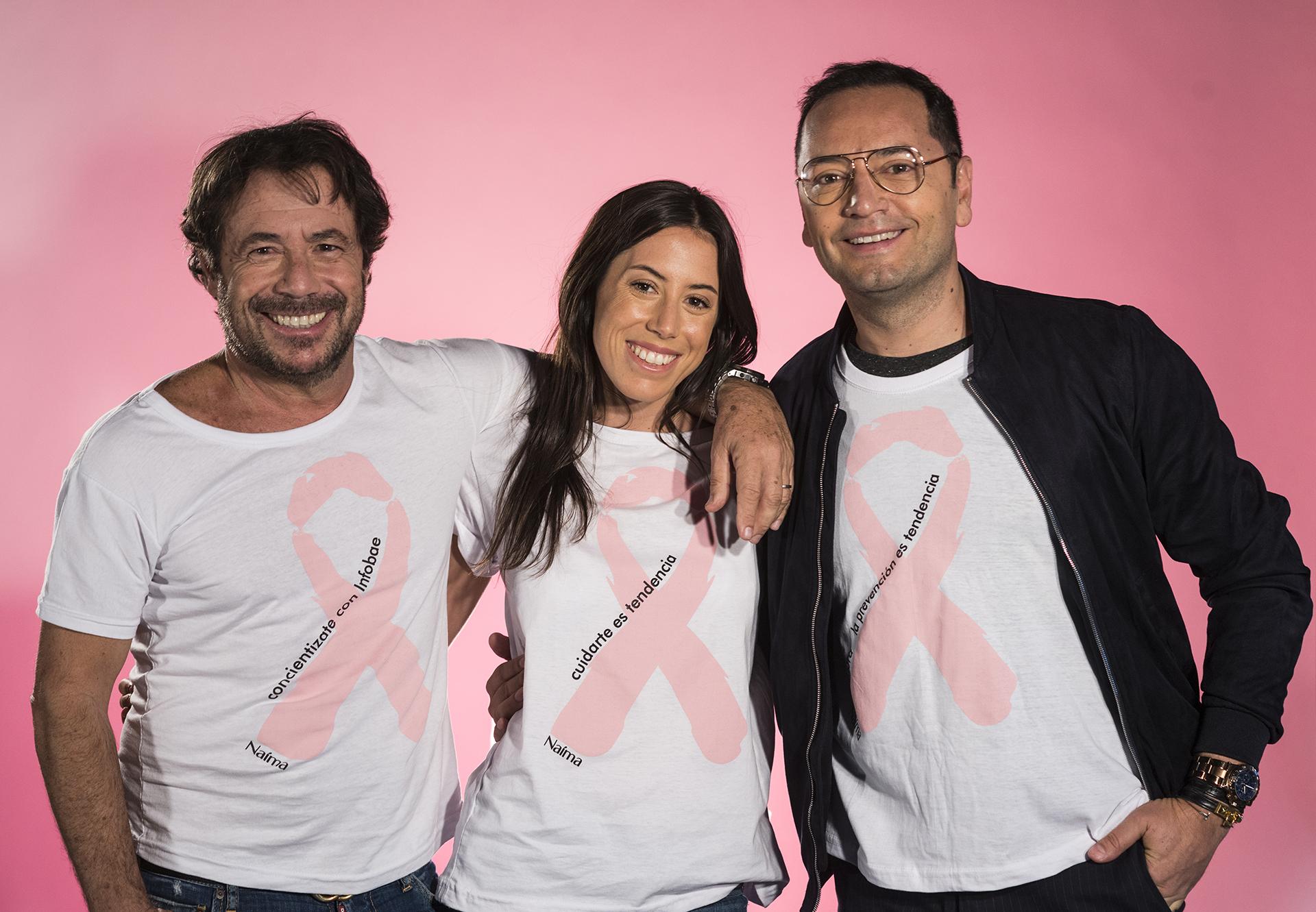 Cumbre de la moda. Ricky y Sofía Sarkany junto a Fabián Medina Flores brindaron una clase de estilo