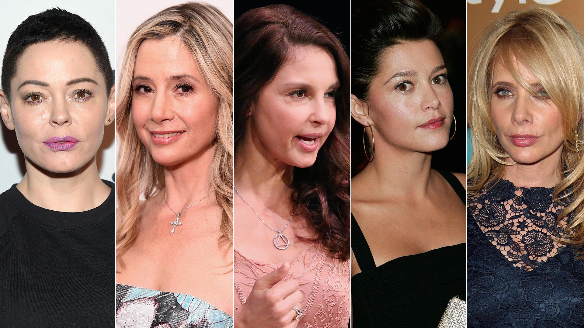 Las actrices que acusaron al productor de acoso y violación