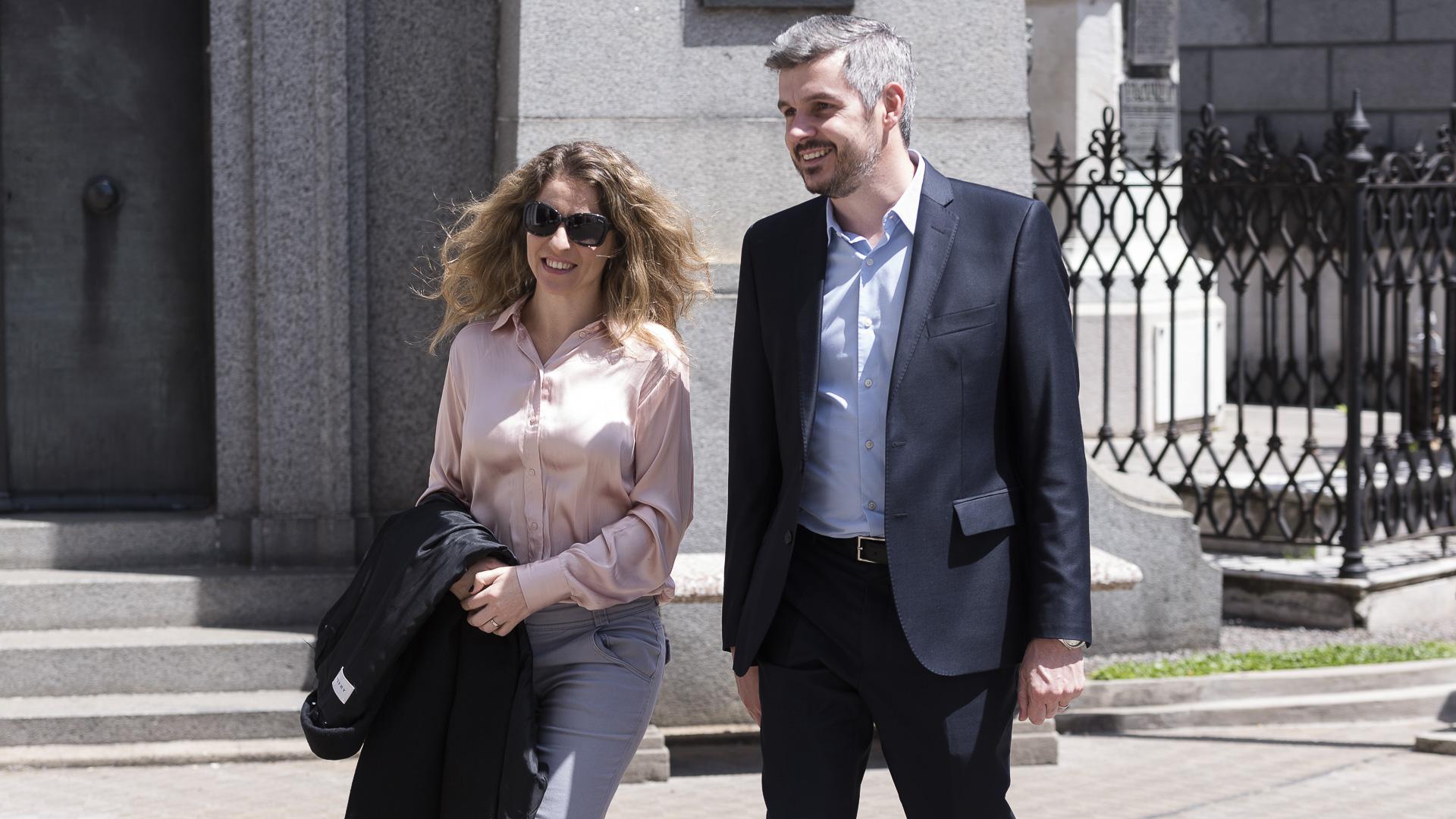 Marcos Peña y su esposa Luciana Mantero