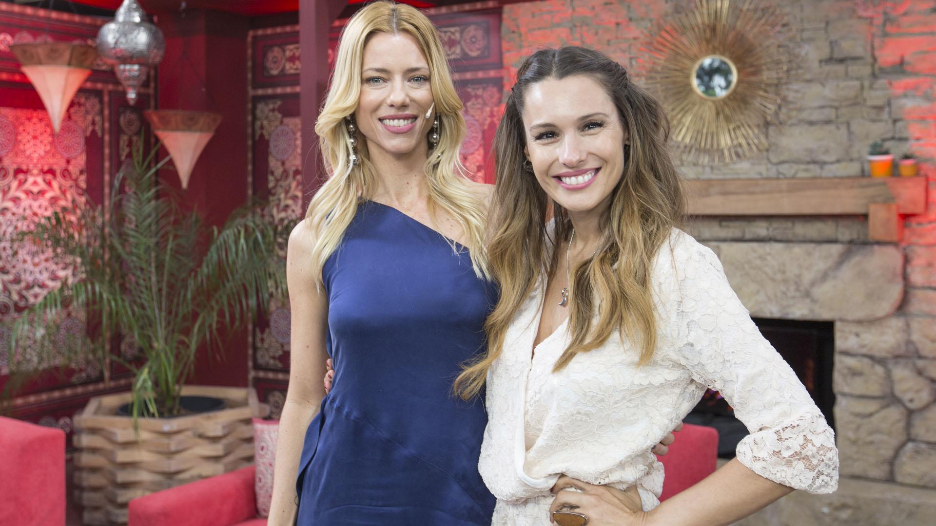 Nicole Neumann y Pampita Ardohain en KZO